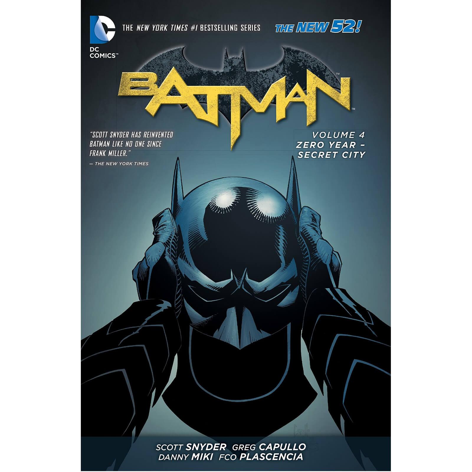 DC Comics: Batman Vol 4 Zero Year - Secret City Graphic Novel (Hardback)