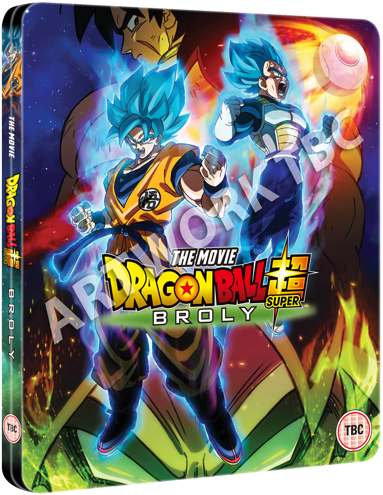 Dragon Ball Super The Movie Broly Steelbook