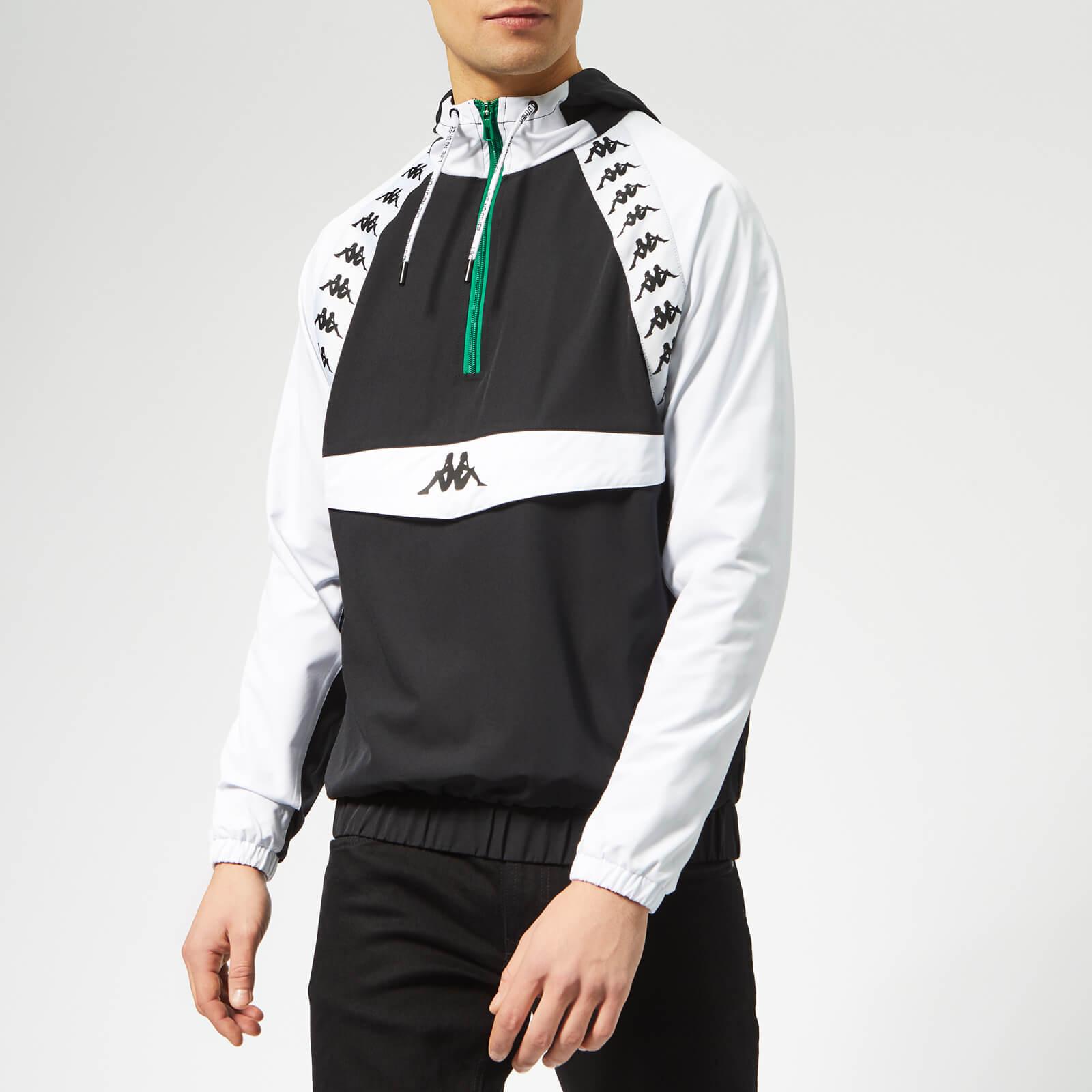 0dc9f83ea2 Kappa Men's Authentic Bakit Windbreaker Jacket - Black Clothing | TheHut.com