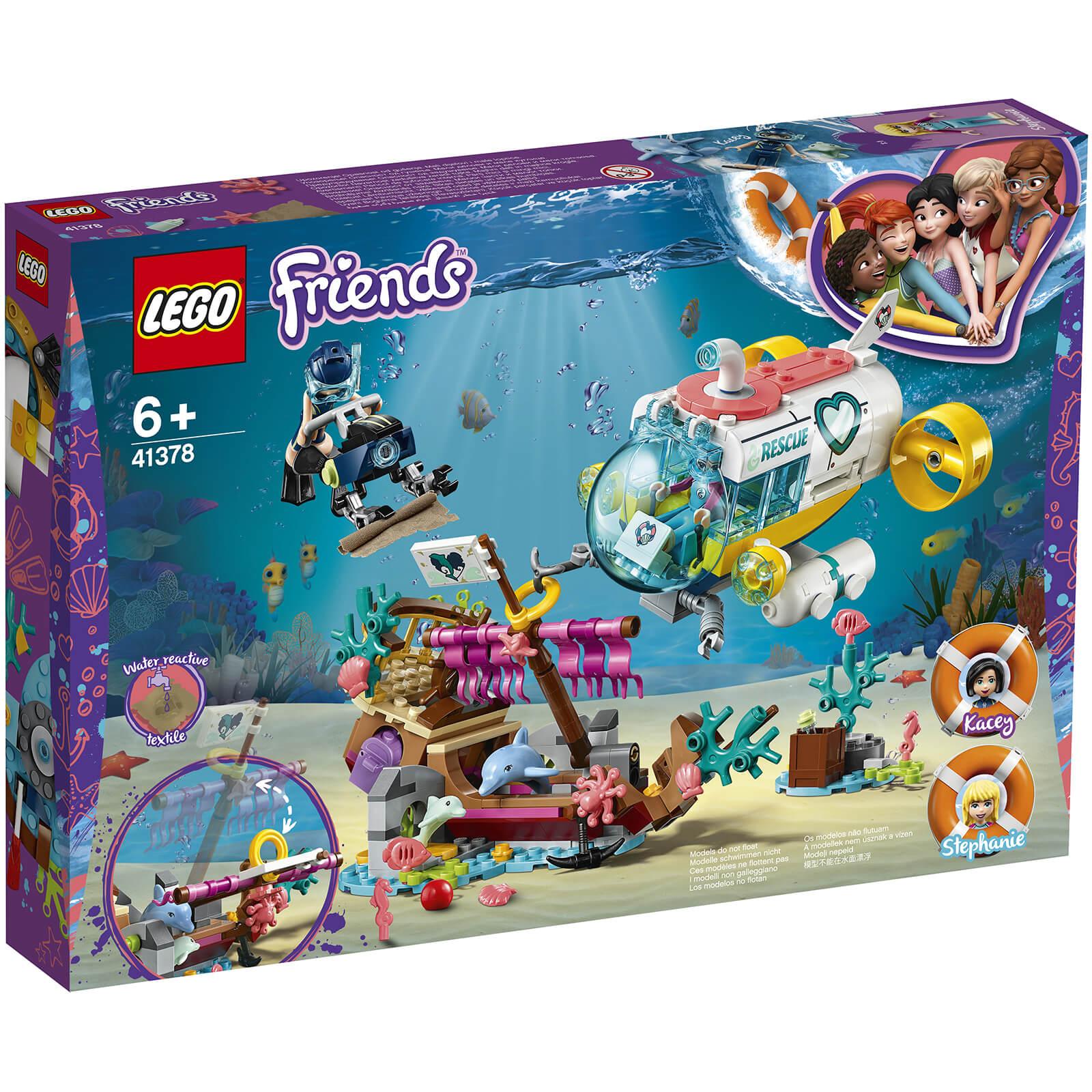 Ultramoderne LEGO Friends: Dolphins Rescue Mission (41378) Toys   Zavvi CX-61