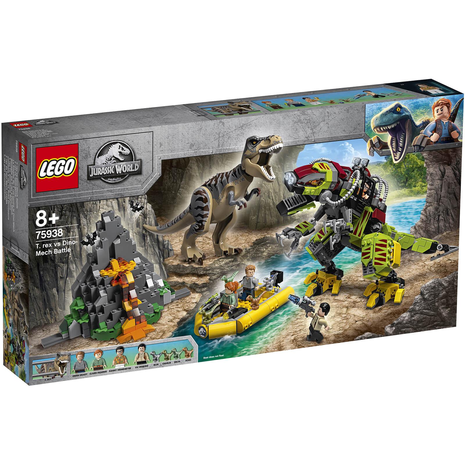 Battle75938 Lego Vs Rex WorldT Mech Dino Jurassic E92HYWID