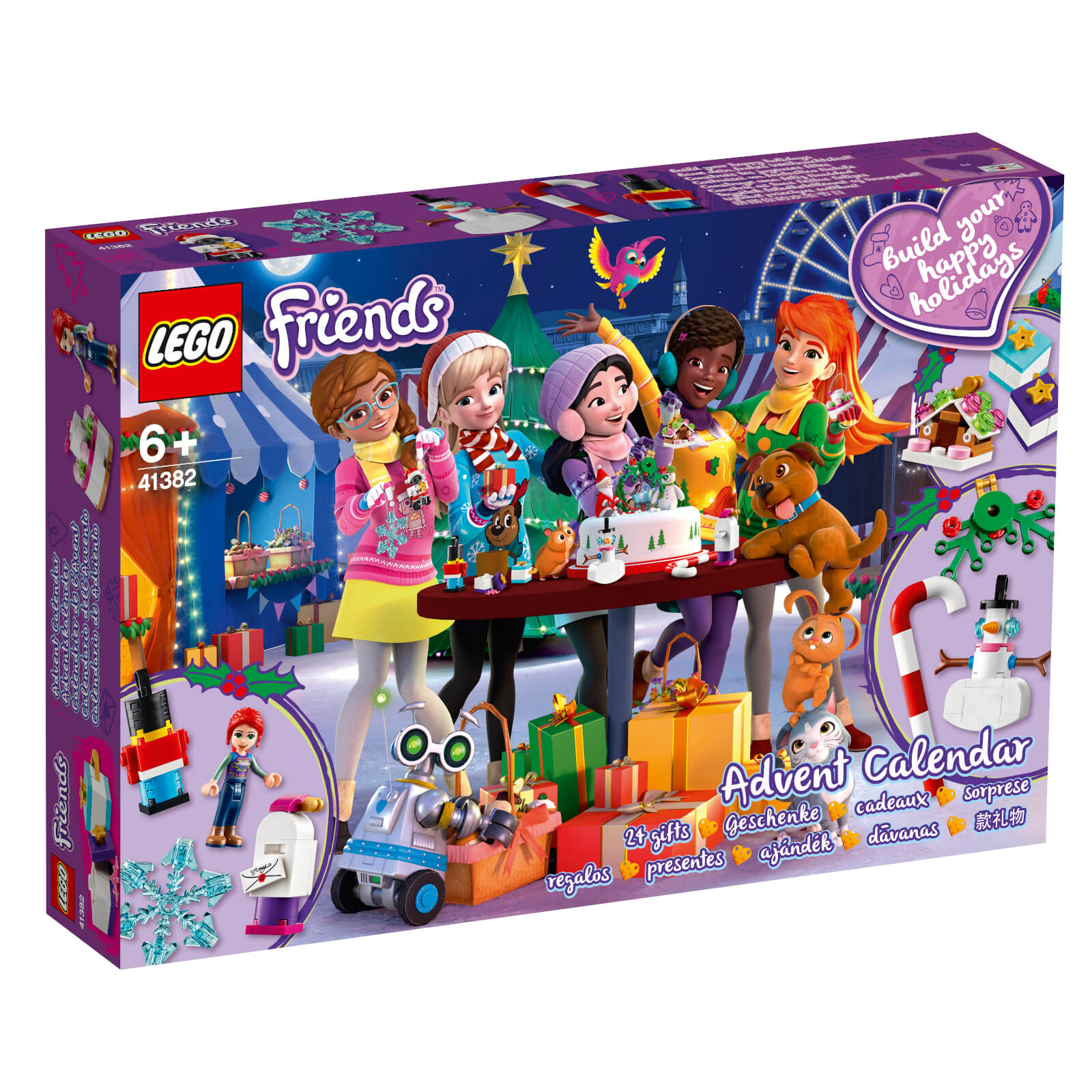 Calendrier Gotham.Lego Friends Friends Advent Calendar 41382
