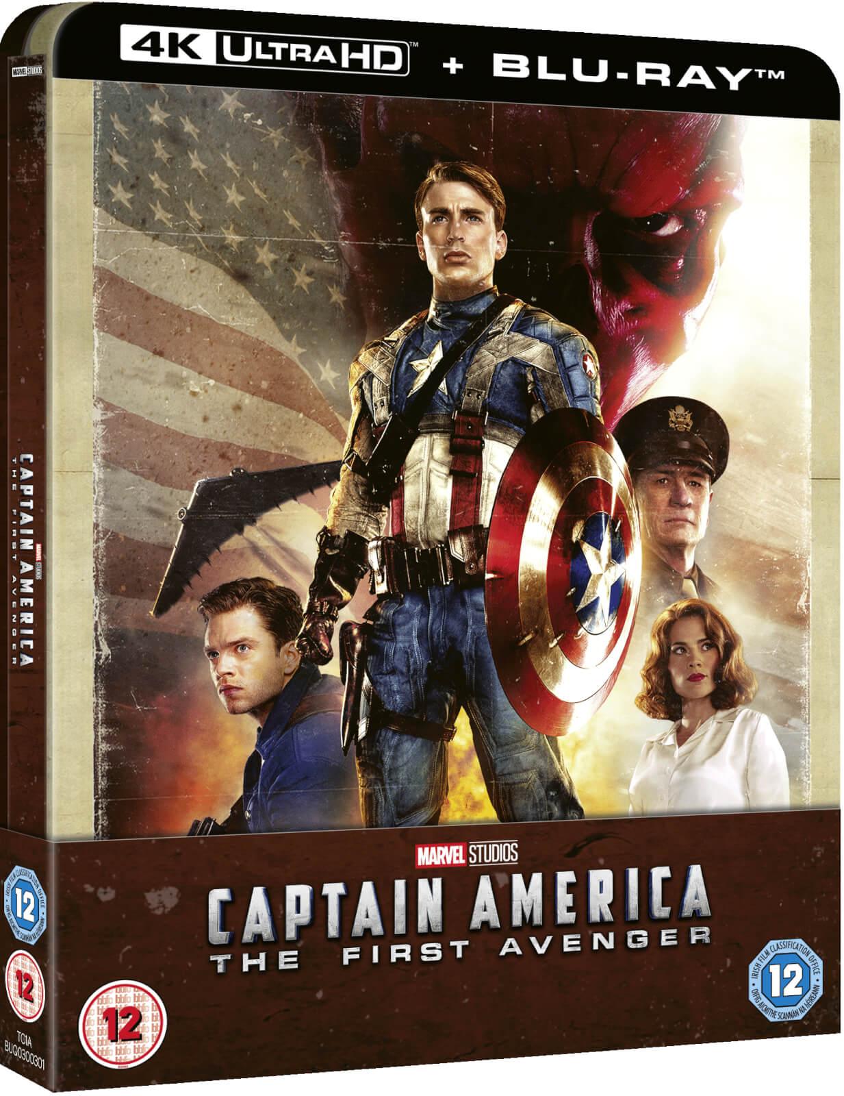 Captain America: The First Avenger 4K Ultra HD