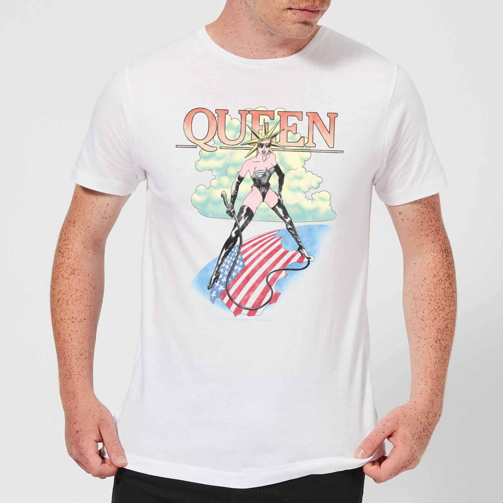 Queen Vintage Tour Men\u0027s T,Shirt , White