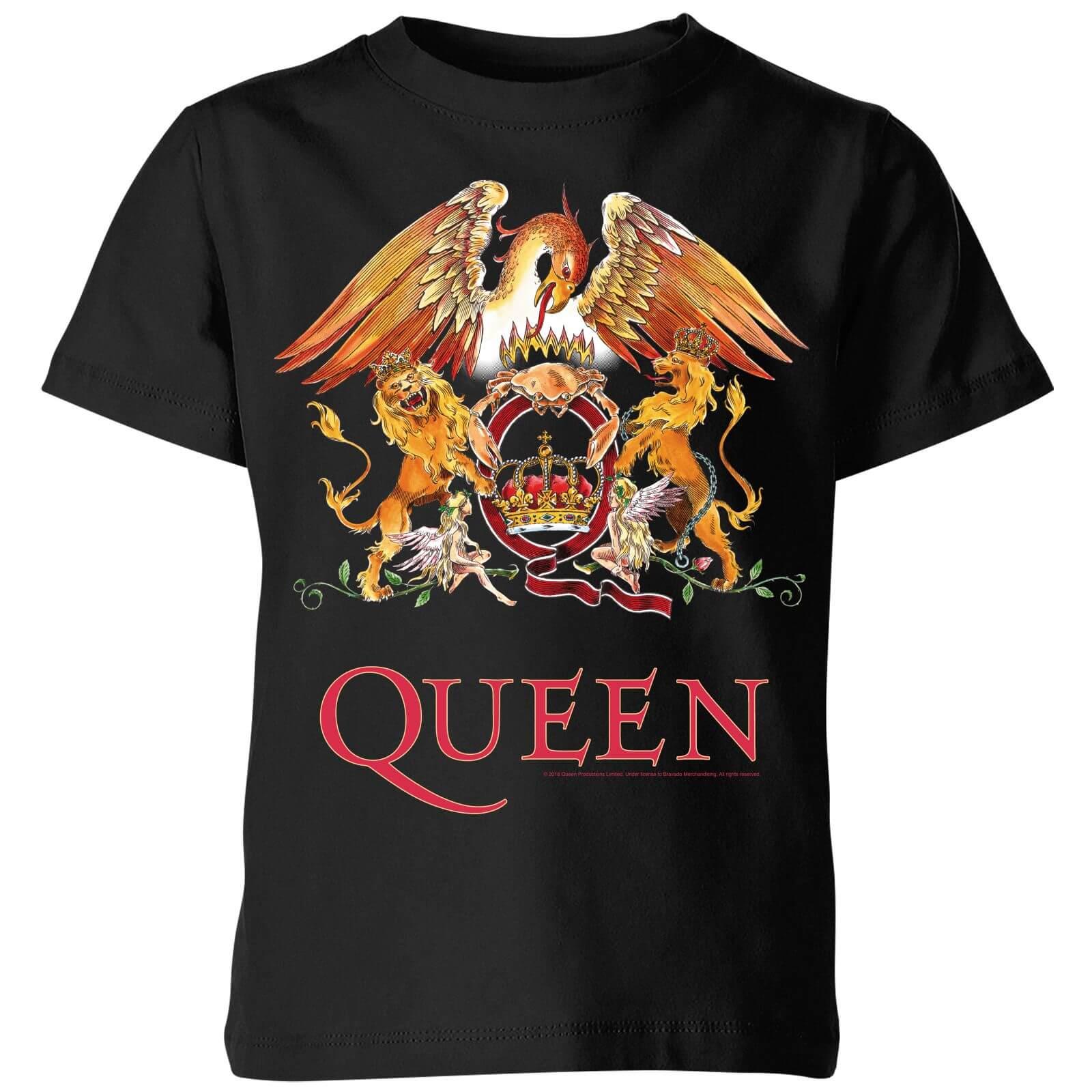 vendita calda online 0dec9 28a76 Queen Crest Kids' T-Shirt - Black
