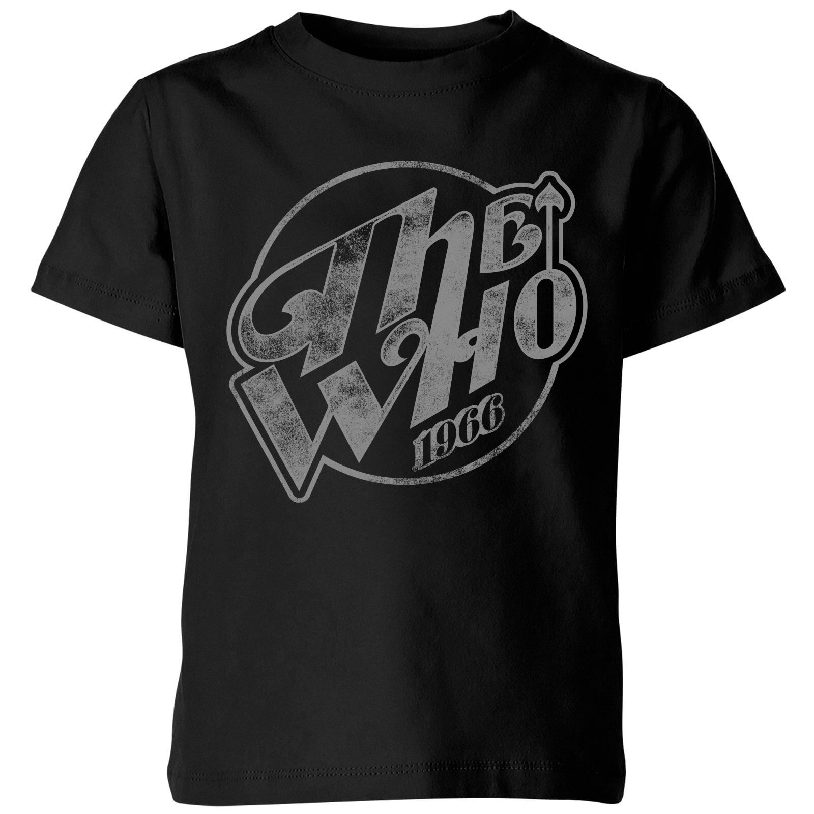 The Who 1966 Kids' T-Shirt - Black