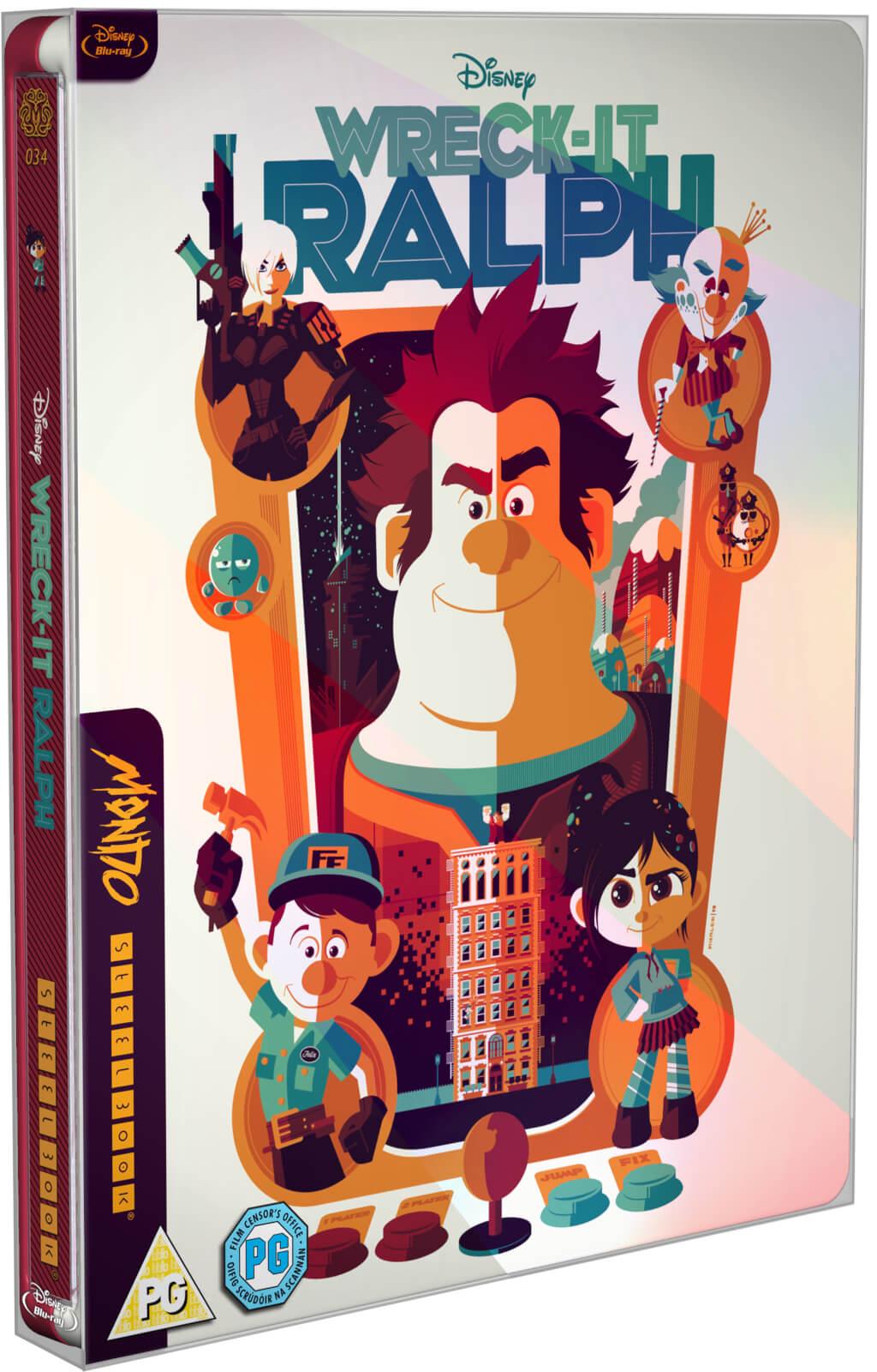 Wreck it Ralph - Mondo #34 Zavvi Exclusive Limited Edition Steelbook