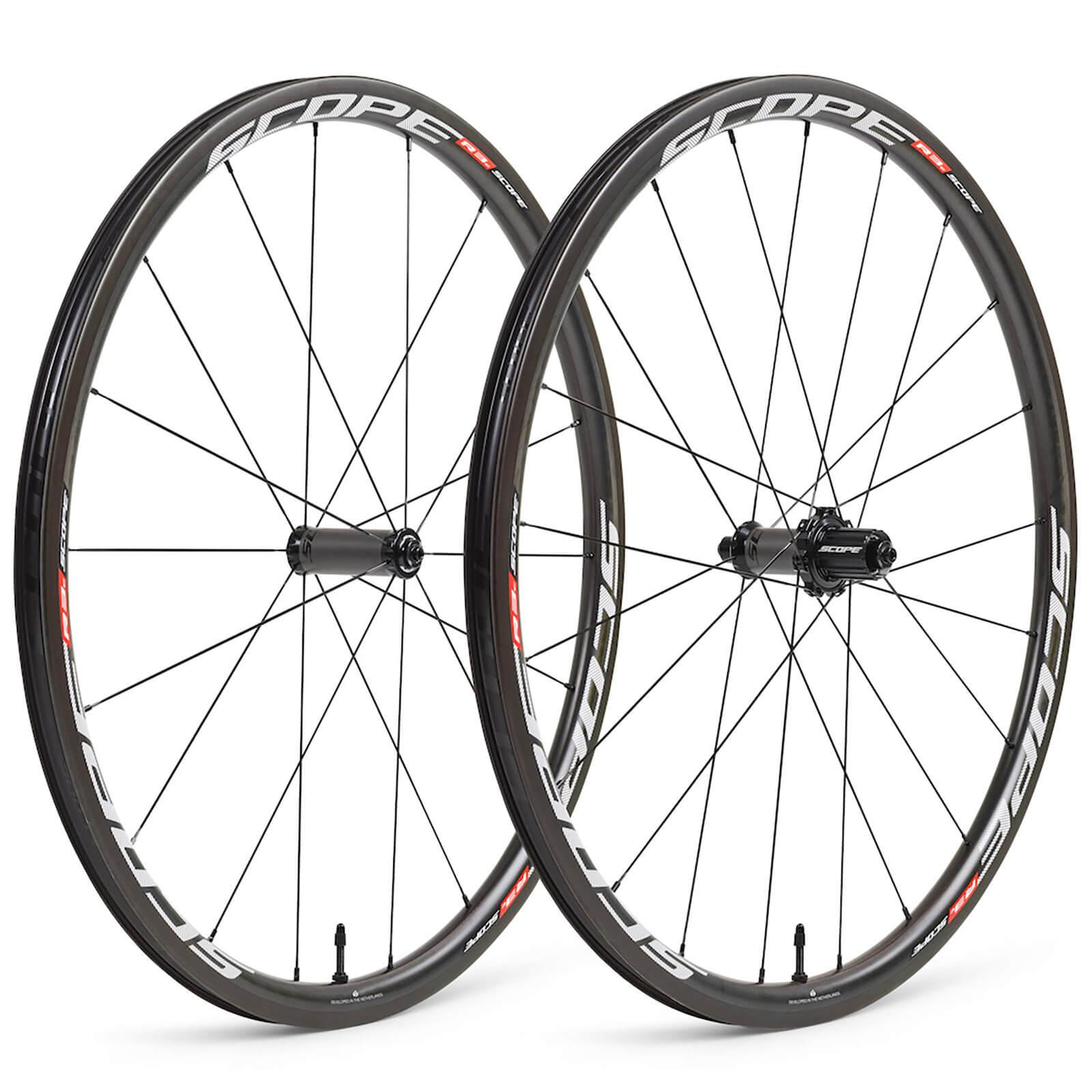 Scope R3 Carbon Clincher Wheelset