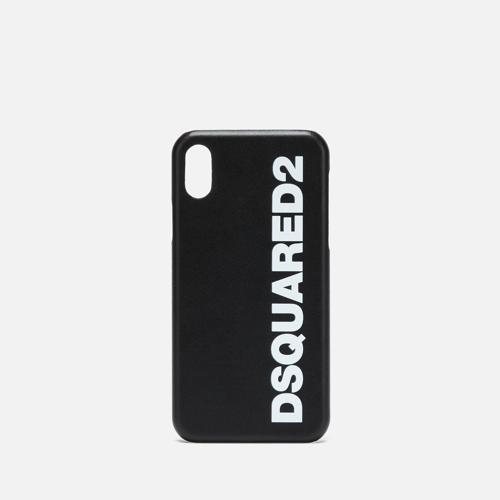 b3a4ce25 Dsquared2 Men's iPhone X Cover - Black/White