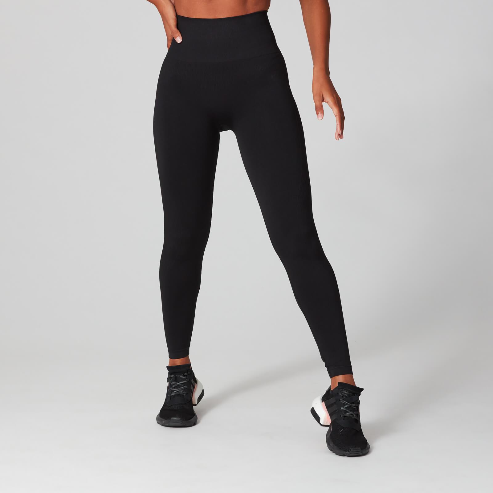 Large Logo Tights Black Womens   Sports leggings, Black