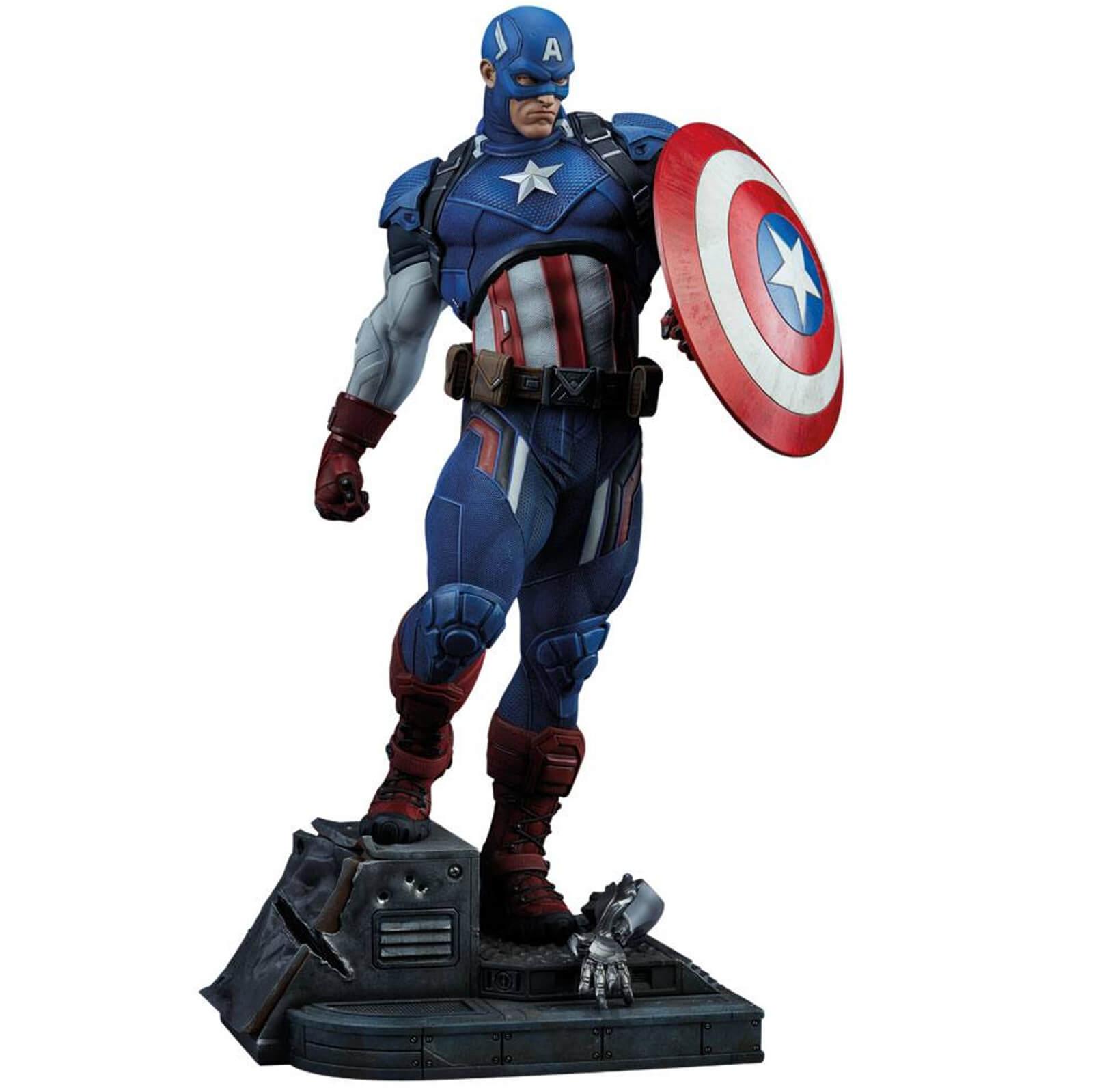 Figure Captain America Cm Sideshow Marvel Collectibles 53 Format Comics Premium QhxsCtrd