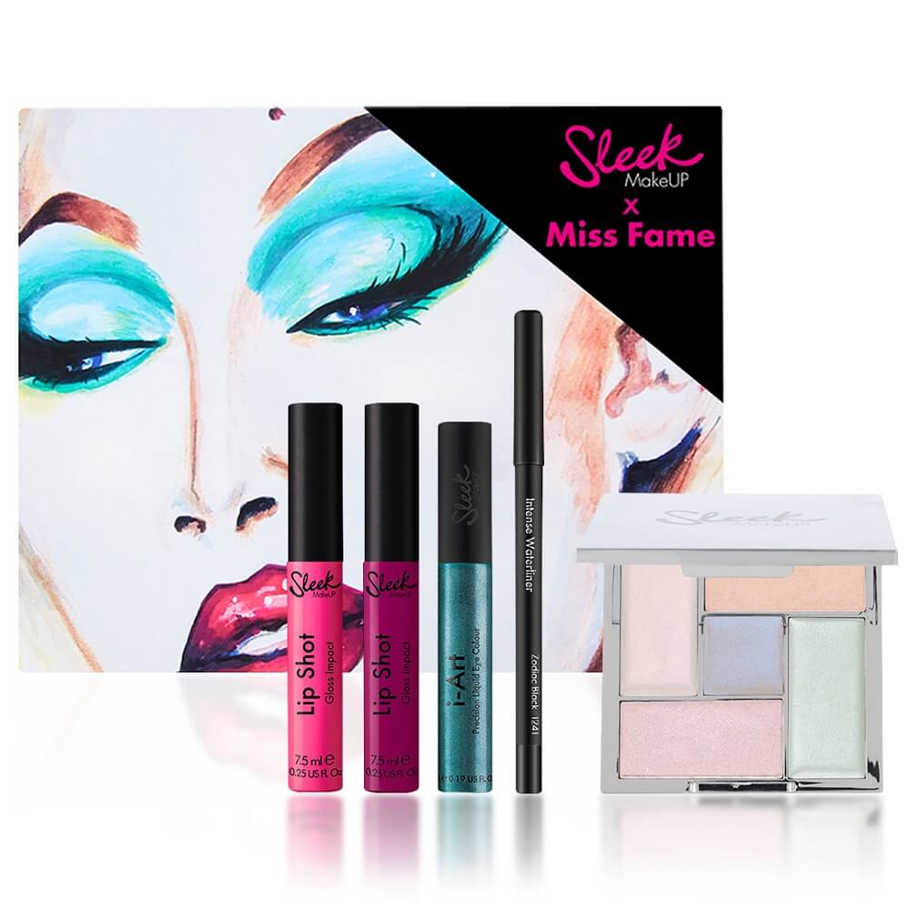 Sleek MakeUP X Miss Fame Collection - Exclusive (Worth £31.95) | Free Shipping | Lookfantastic