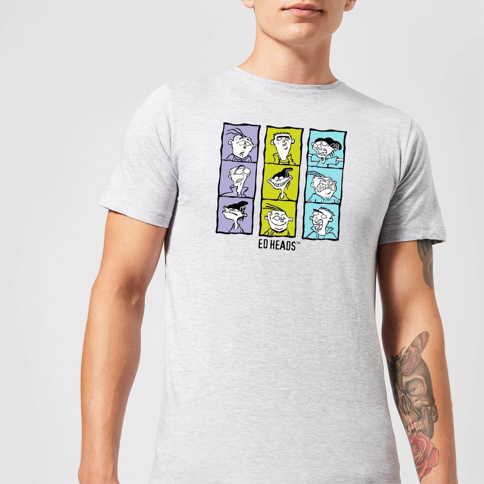 Ed, Edd n Eddy Heads Men's T-Shirt - Grey