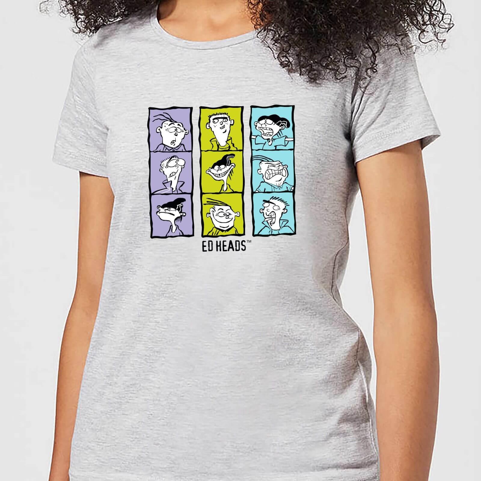 Ed, Edd n Eddy Heads Women's T-Shirt - Grey