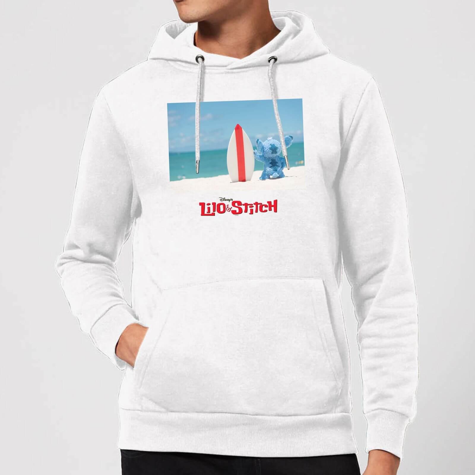 cb1a54ebf0 Disney Lilo And Stitch Surf Beach Hoodie - White