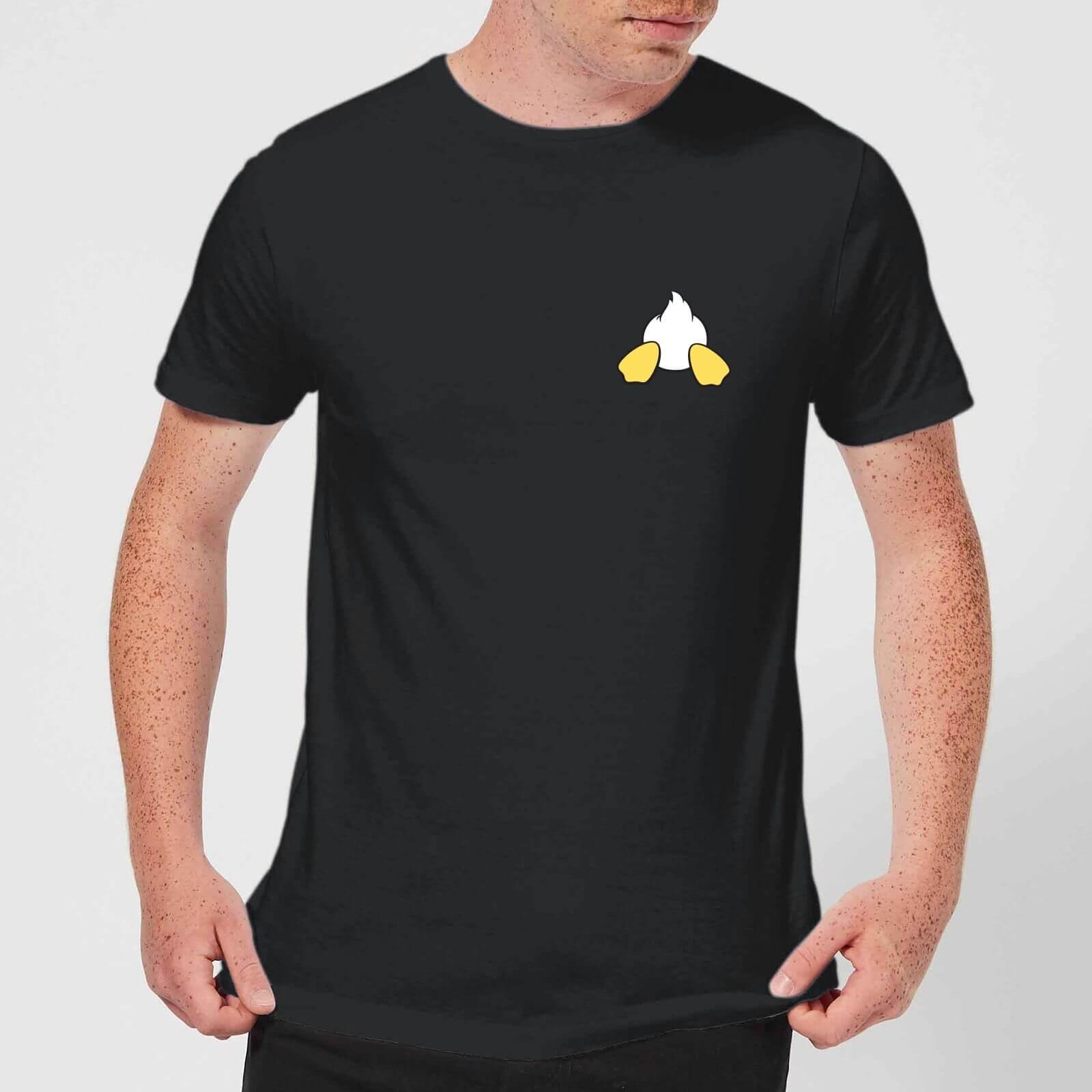 3dc822853b7d Disney Donald Duck Backside Men's T-Shirt - Black Clothing   Zavvi