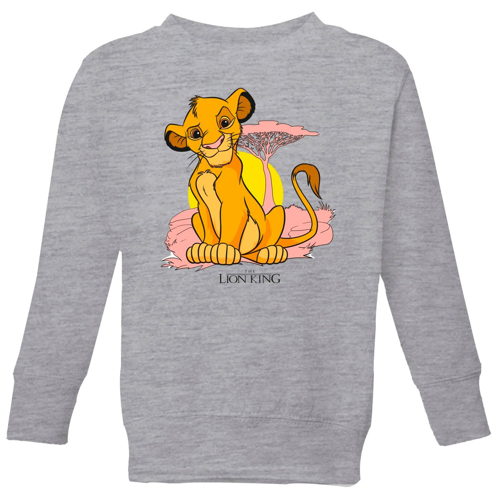 6dc5defd Disney Lion King Simba Pastel Kids' Sweatshirt - Grey
