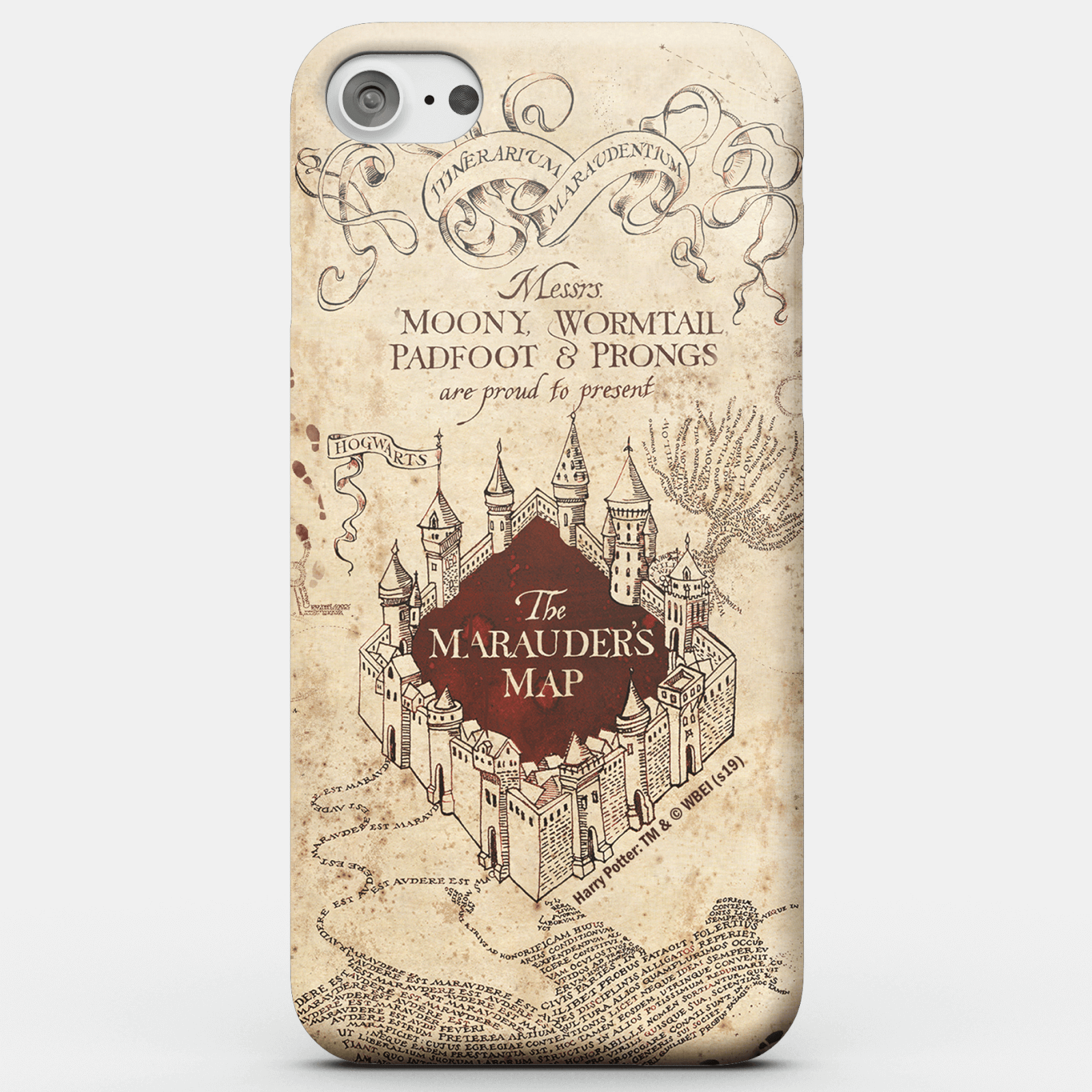 sports shoes 5af98 59885 Harry Potter Phonecases Marauders Map Phone Case for iPhone and Android