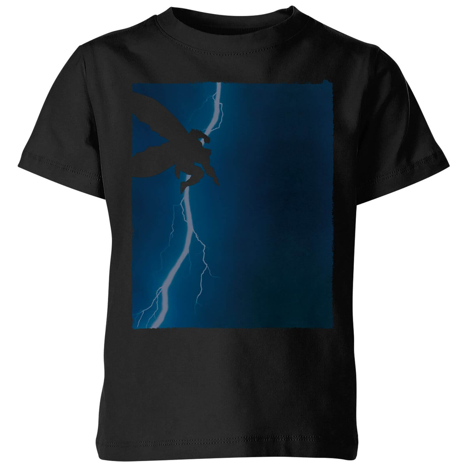 2a0a19c4d Batman The Dark Knight Returns Cover Kids' T-Shirt - Black Clothing | Zavvi