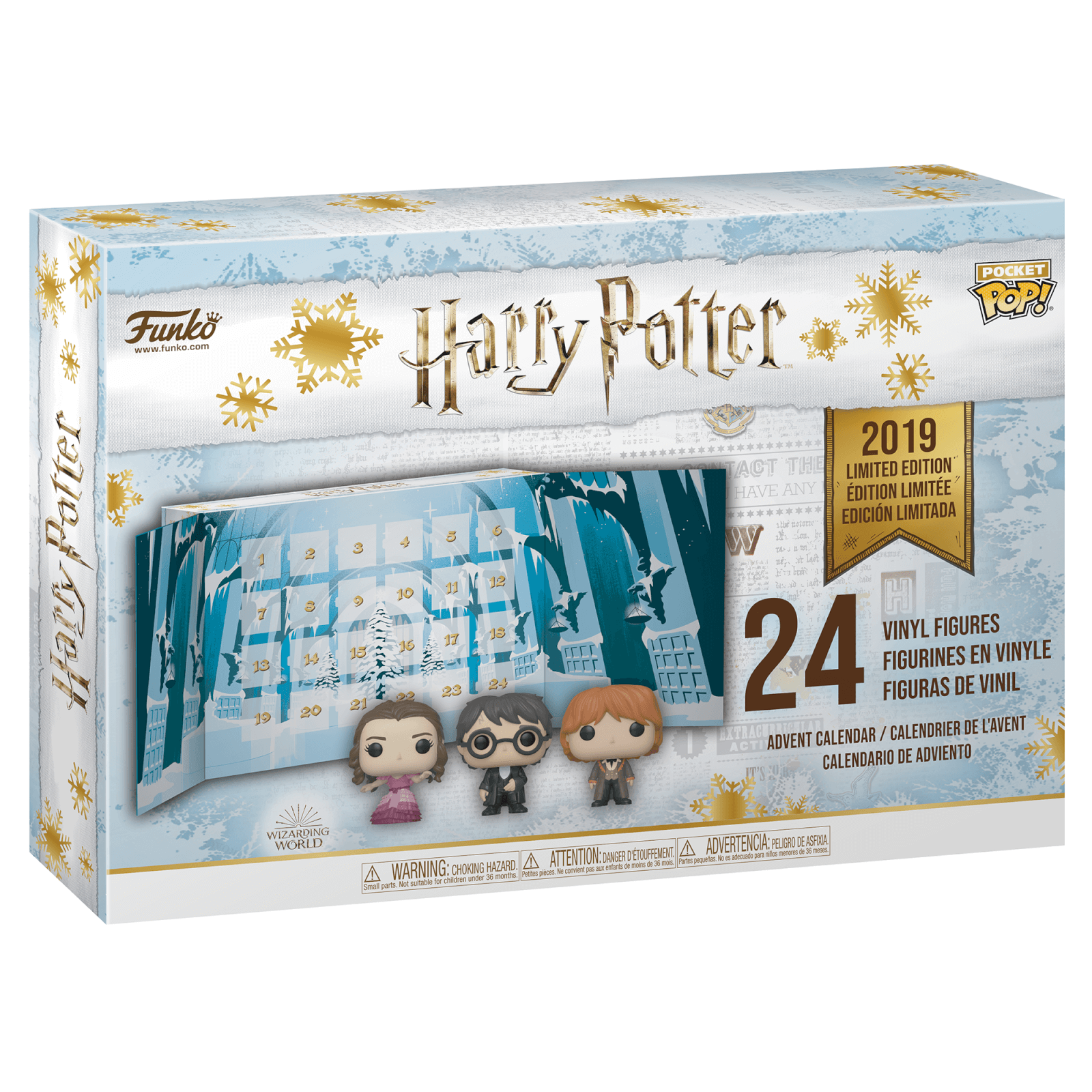 Calendrier Vip 2019.Harry Potter Pop Advent Calendar 2019