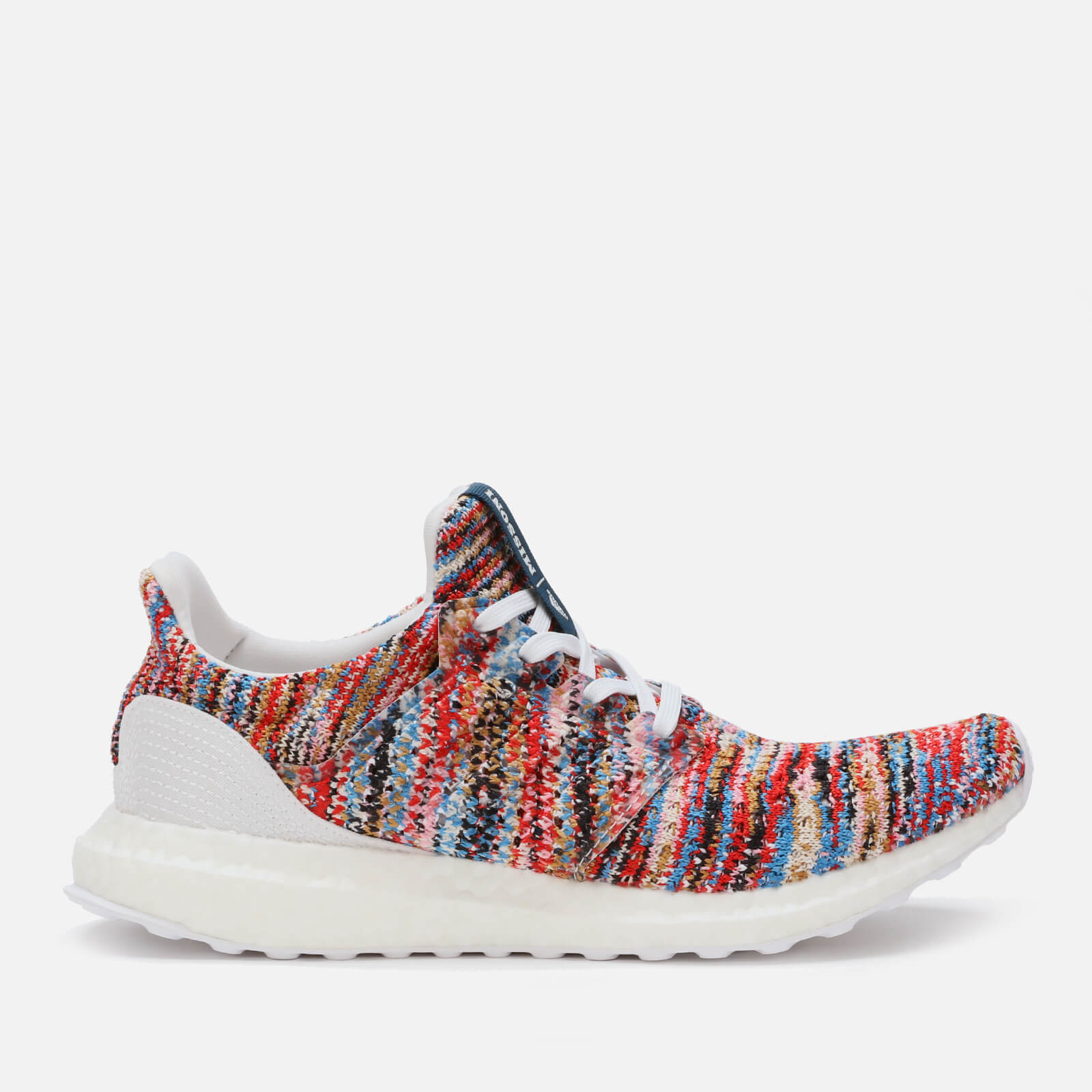 58aea305a3f adidas X Missoni Women s Ultraboost Clima Trainers - FTWR White Shock Cyan  - Free UK Delivery over £50