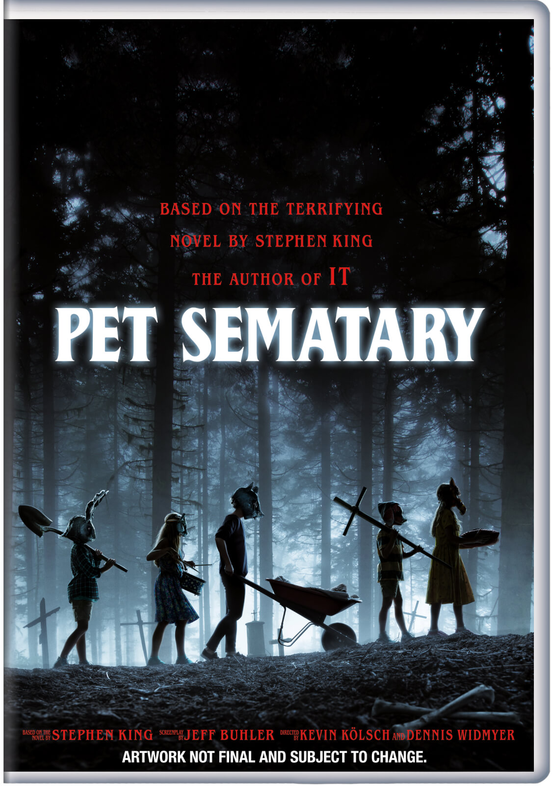 Stephen King Pet Sematary Book