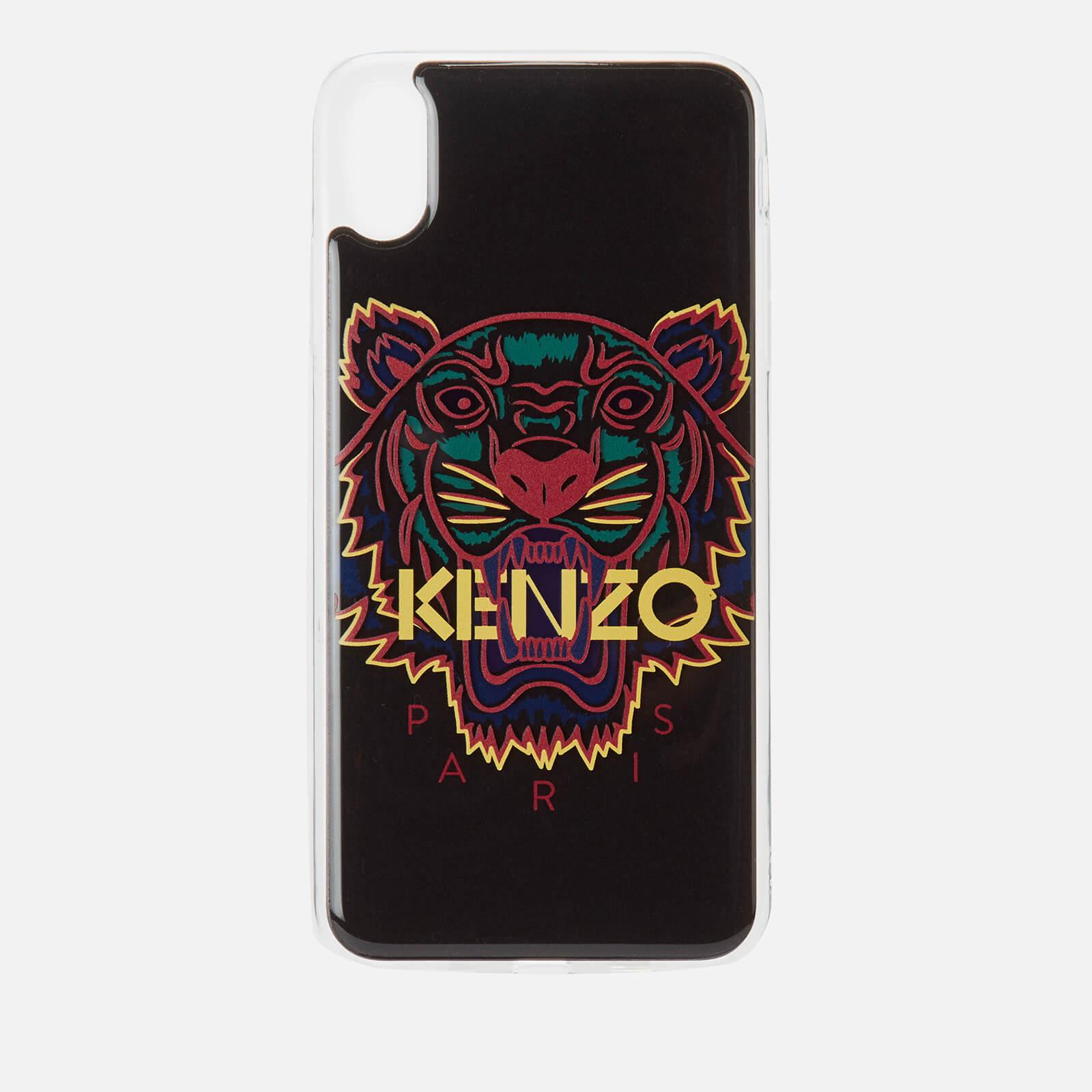 5a315c6d9a KENZO iPhone X Max Case - Black/Purple