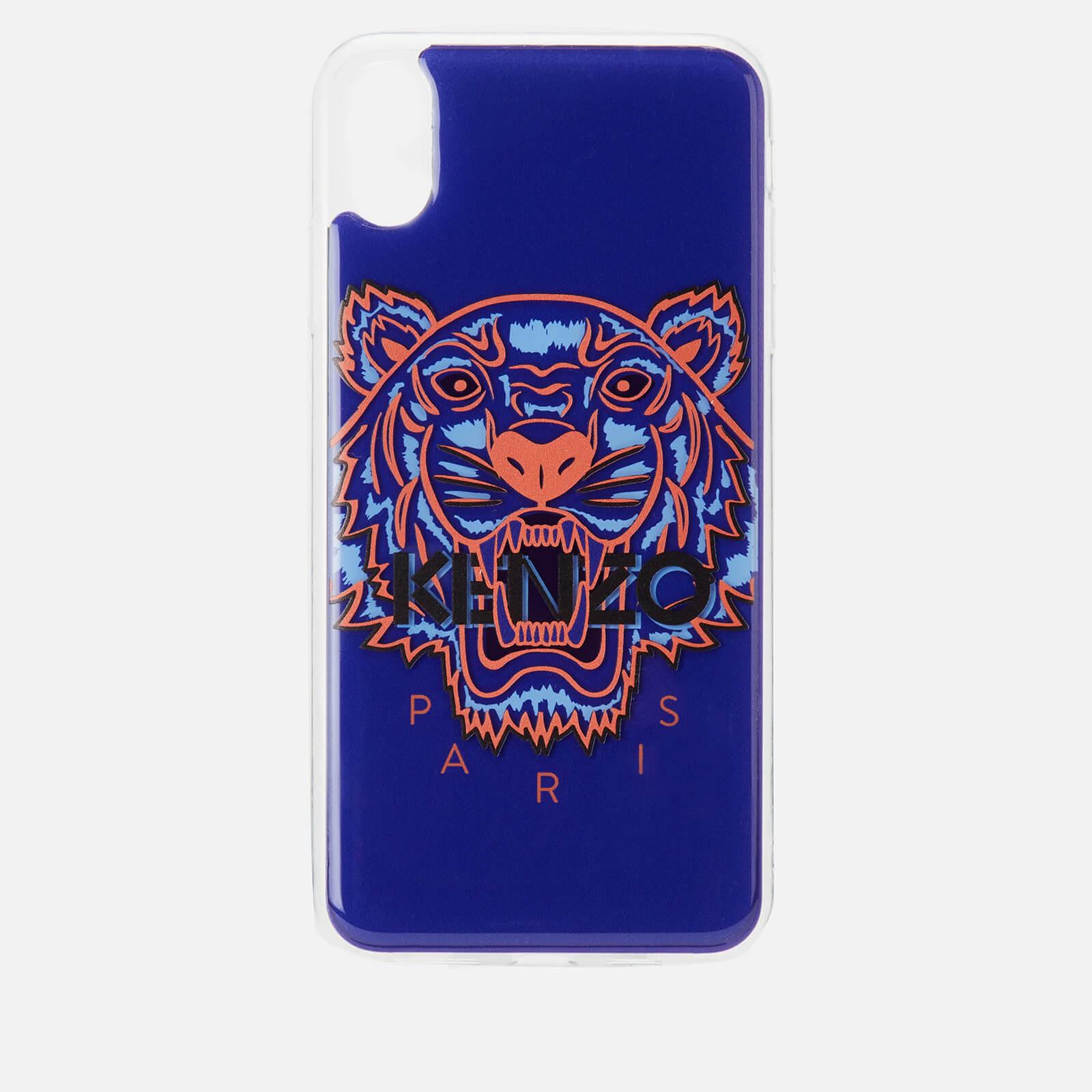 meet 100a1 410f4 KENZO iPhone X Max Case - Deep Sea Blue