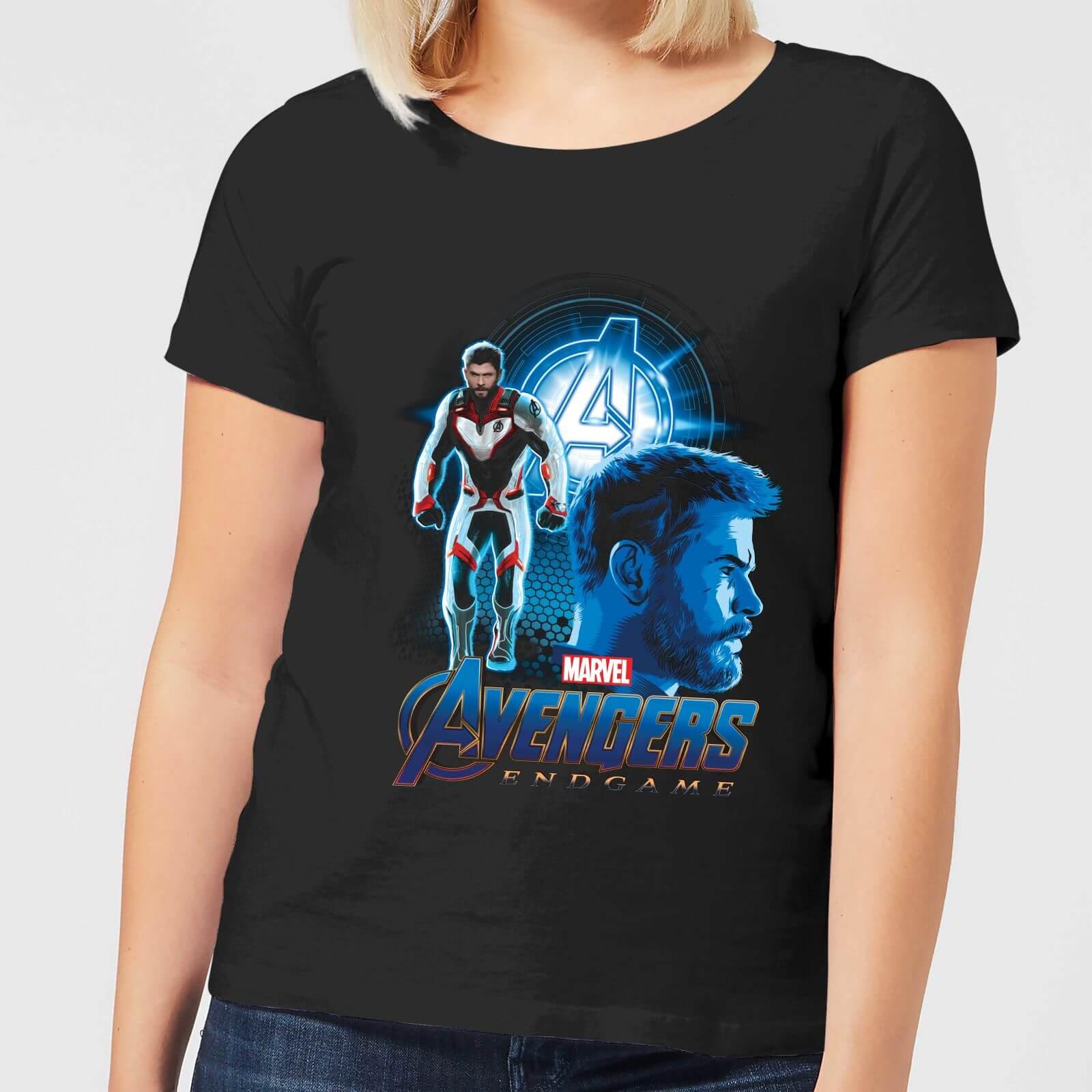 Endgame Mujer Traje Camiseta Negro Thor Vengadores Rq3A54Lj
