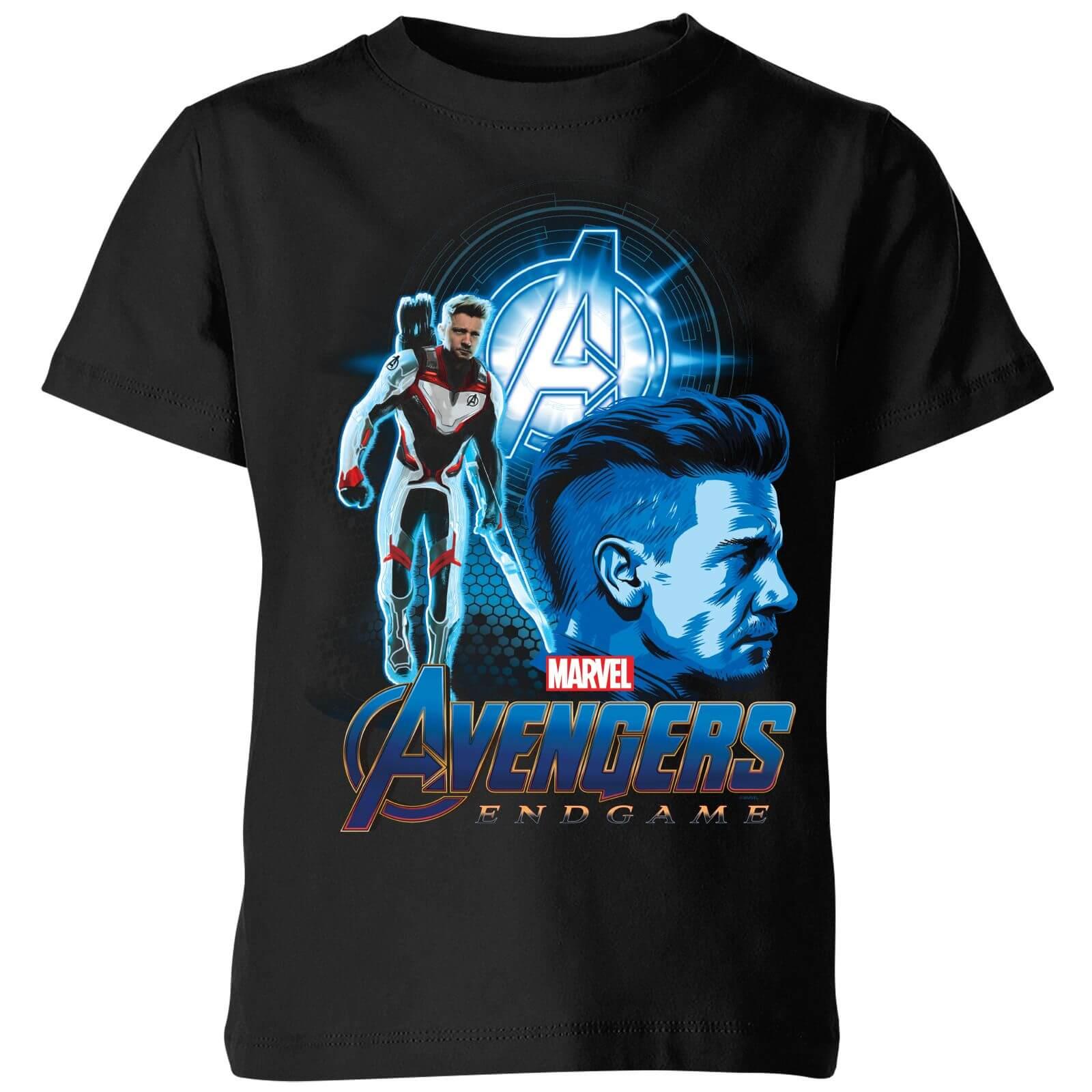 fc433e72b35d7 Avengers  Endgame Hawkeye Suit Kids  T-Shirt - Black