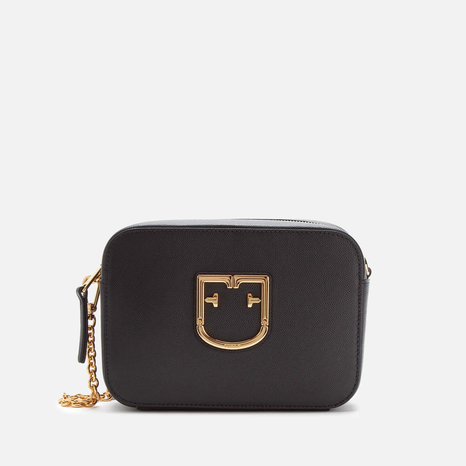 Furla Women's Brava Mini Cross Body Bag - Onyx