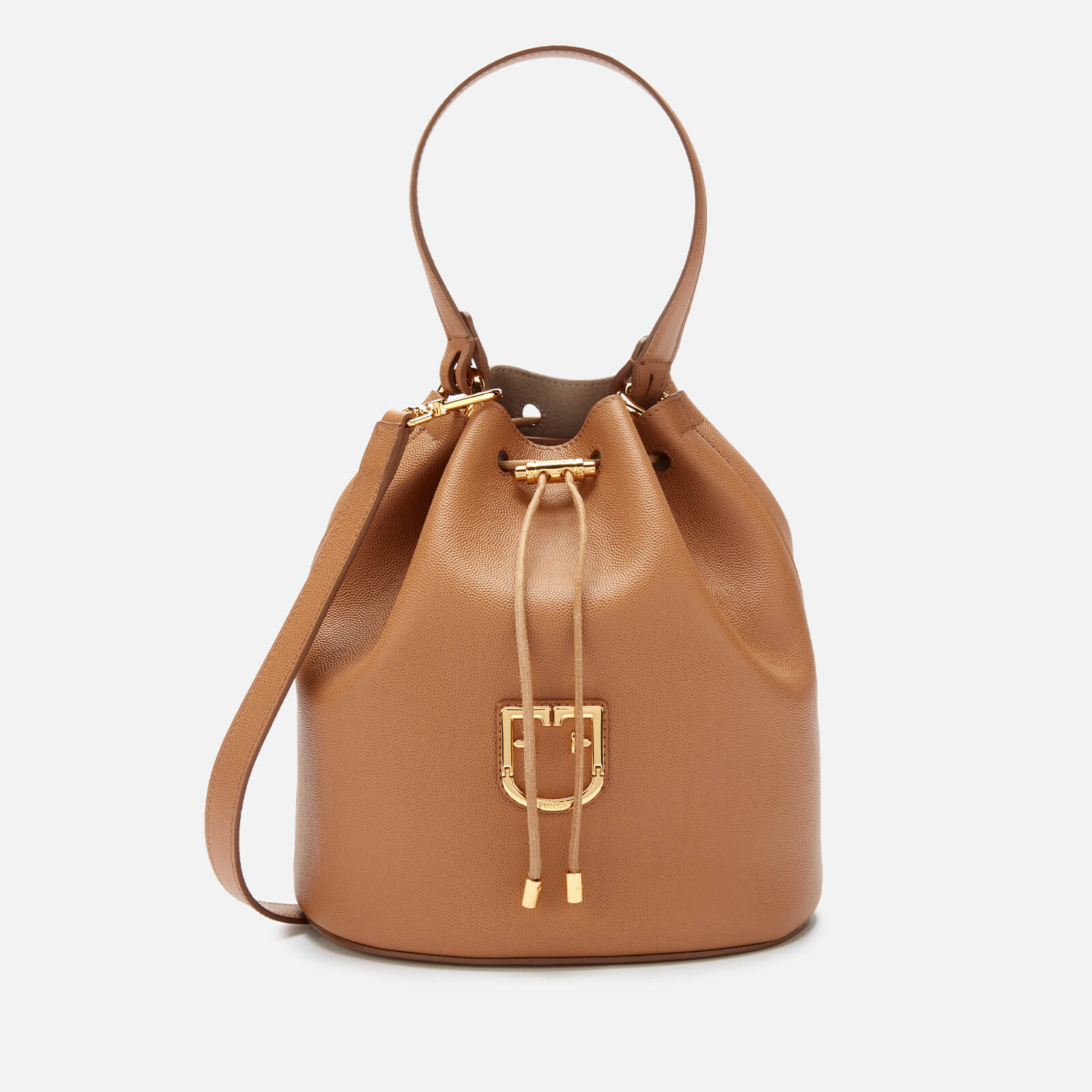 Furla Women's Corona S Drawstring Bag - Caramello F