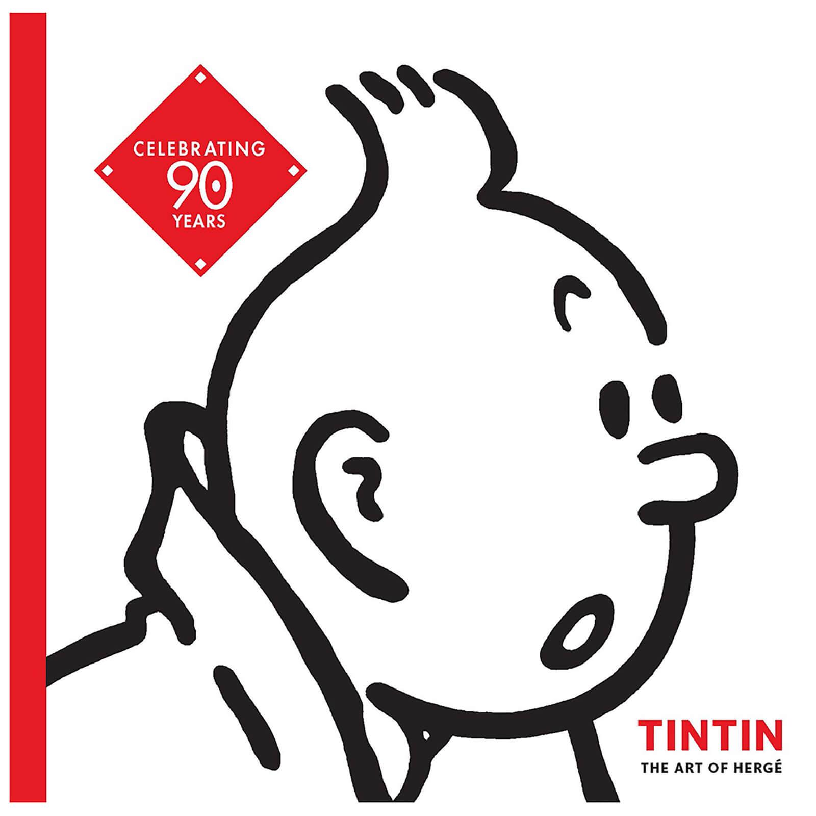 Tintin: The Art of Hergé (Paperback)