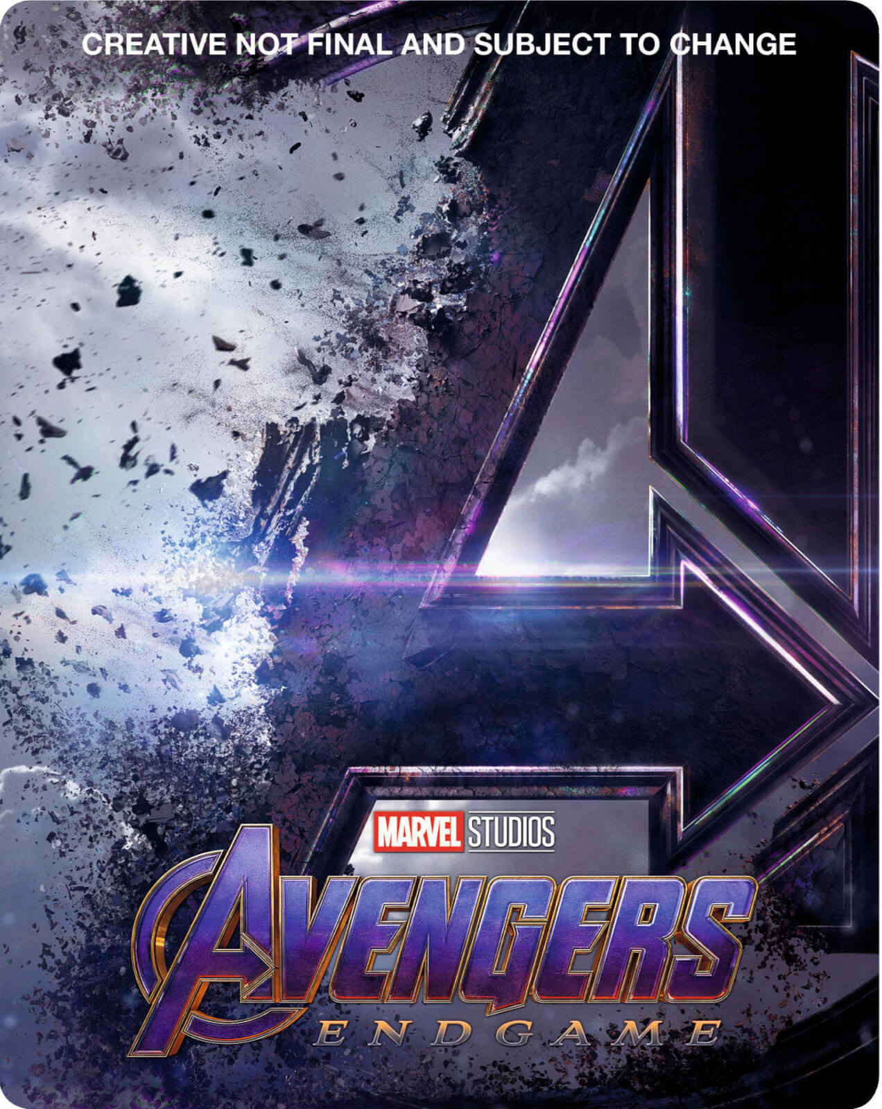 Avengers Endgame Zavvi Exclusive 4k Ultra Hd Steelbook Includes