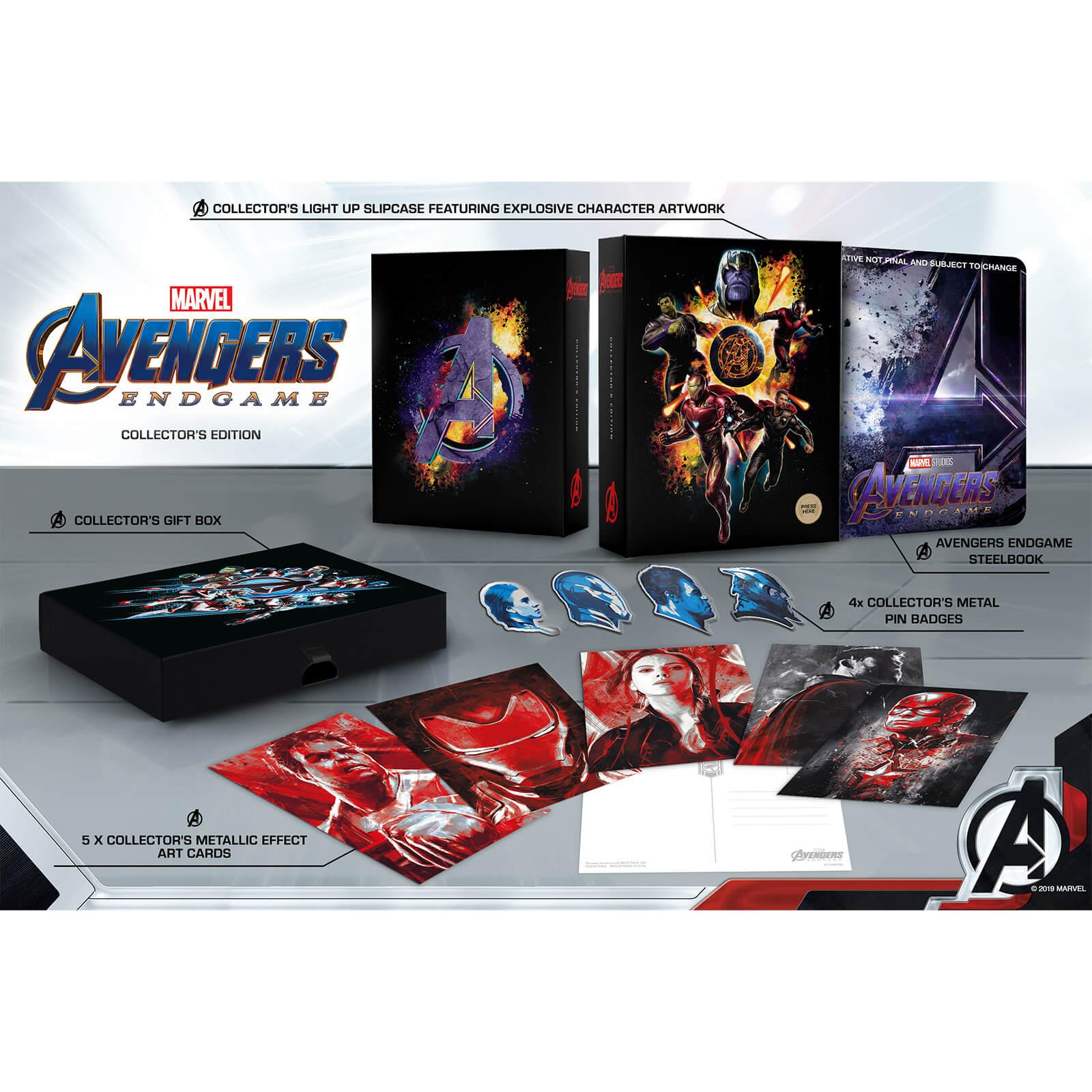 UK - Avengers Endgame 4K (Collector's Edition) (Zavvi
