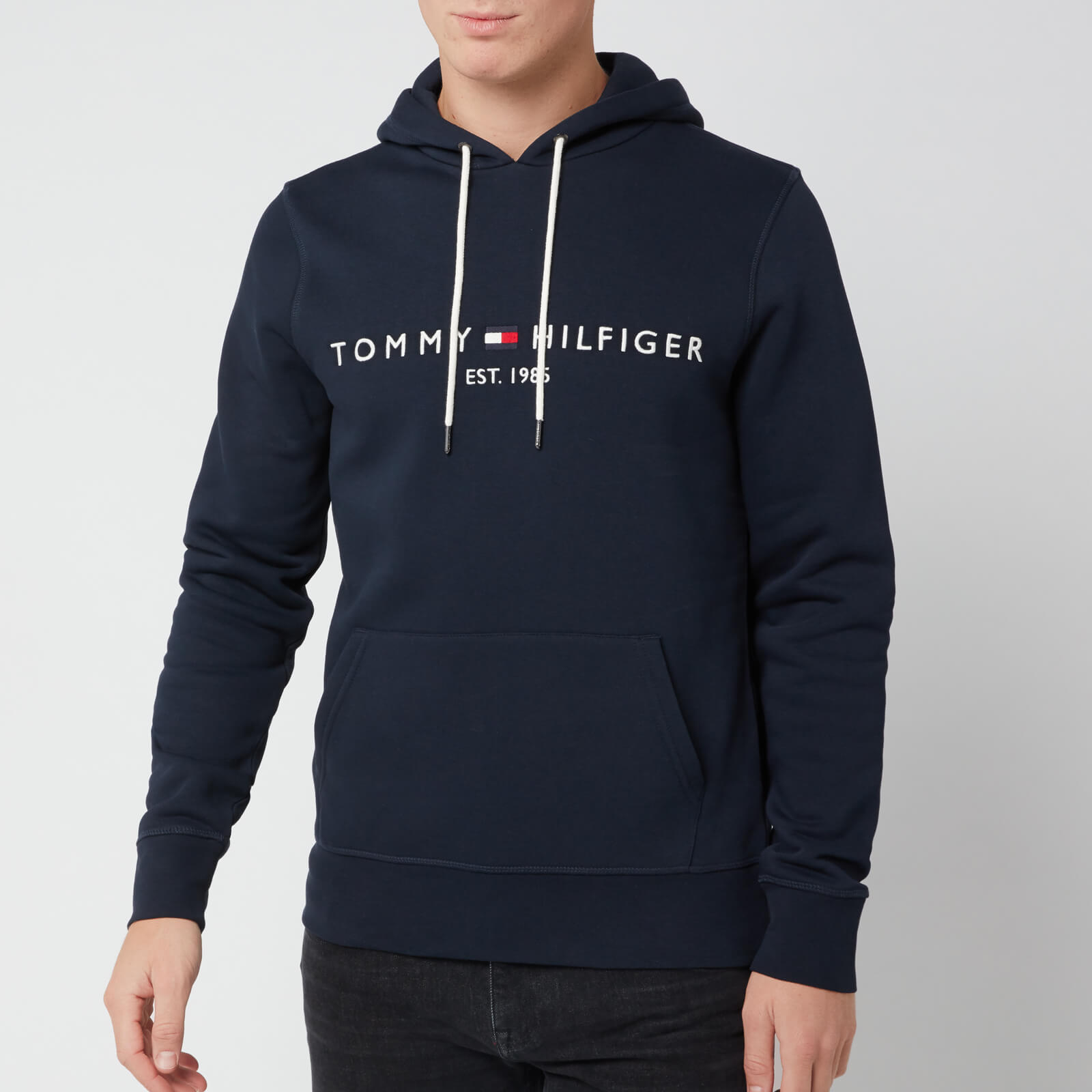 stati Uniti vendita limitata economico in vendita Tommy Hilfiger Men's Tommy Logo Hoodie - Sky Captain Mens Clothing ...