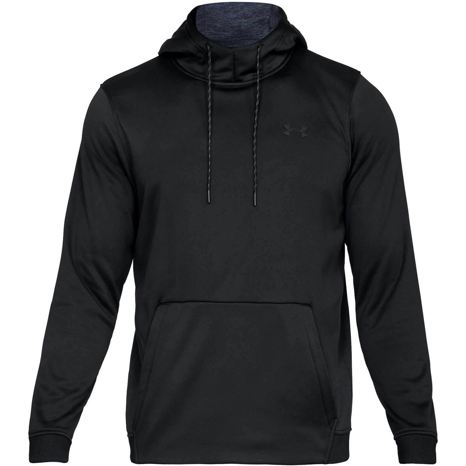 mens black under armour sweatshirt