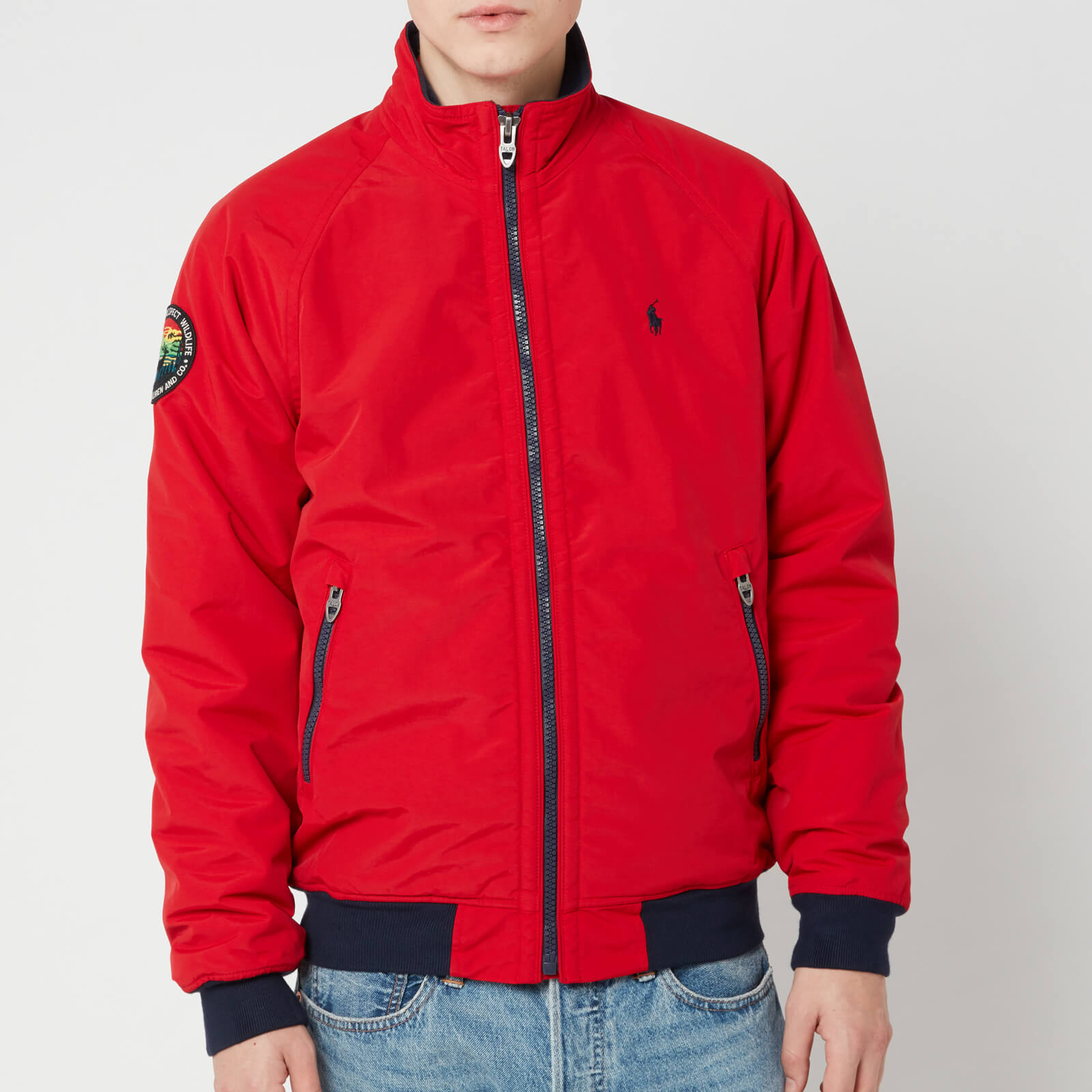 a11cd0b69 Polo Ralph Lauren Men's Bomber Portage Jacket - Rl 2000 Red