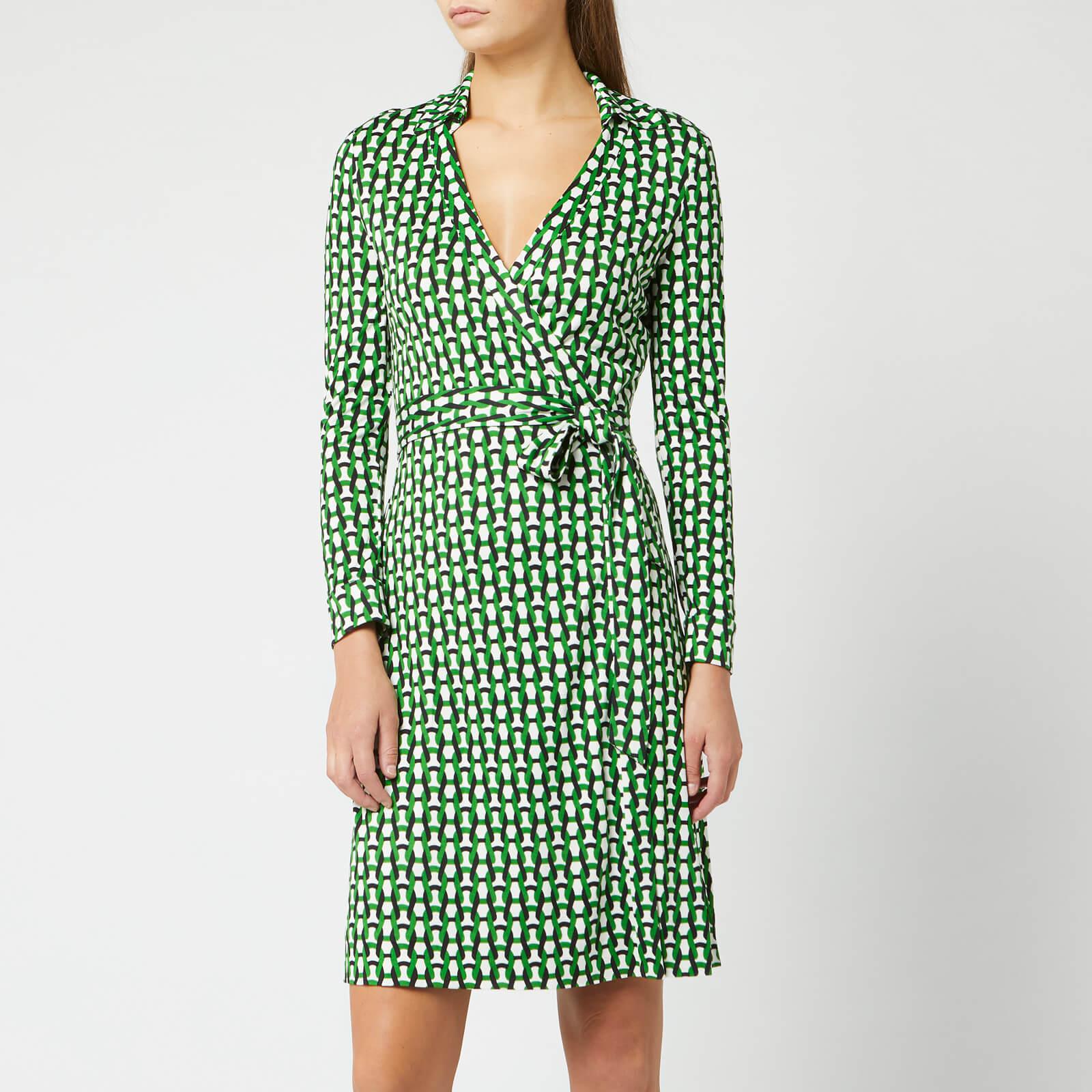 dac145066a6a9 Diane von Furstenberg Women's New Jeanne Two Dress - Vintage Trellis Lawn -  Free UK Delivery over £50