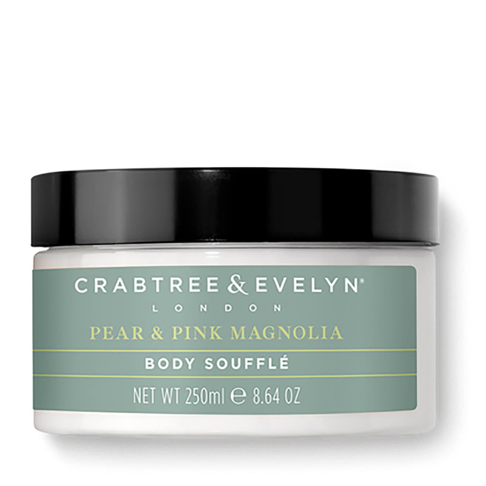 Crabtree Evelyn Pear And Pink Magnolia Uplifting Body Souffle 250ml Free Shipping Lookfantastic