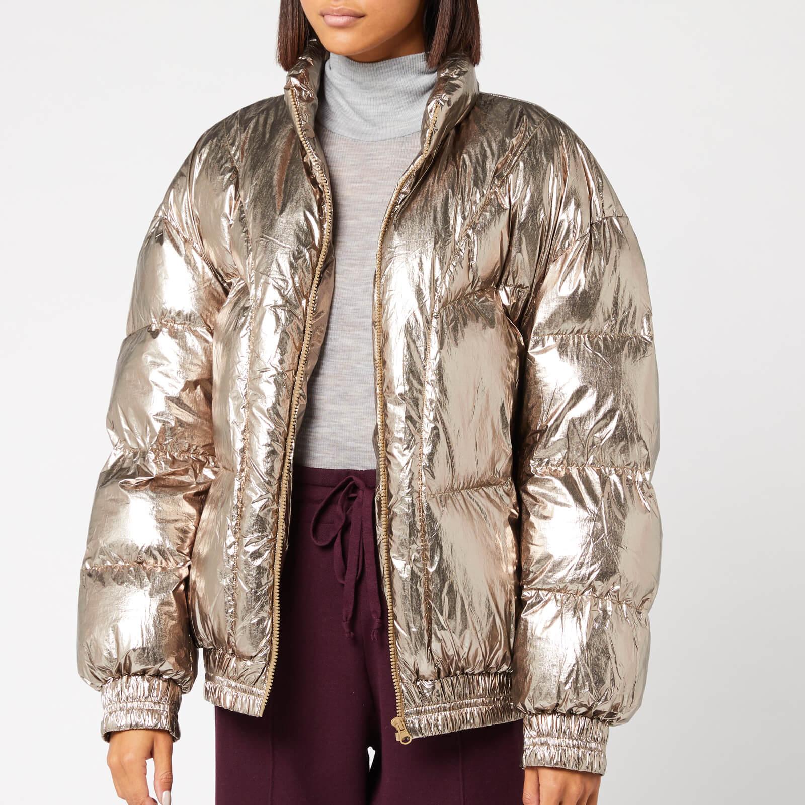 Isabel Marant Étoile Women's Kristen Coat - Metallic Bronze - FR 34/UK 6 - Bronze