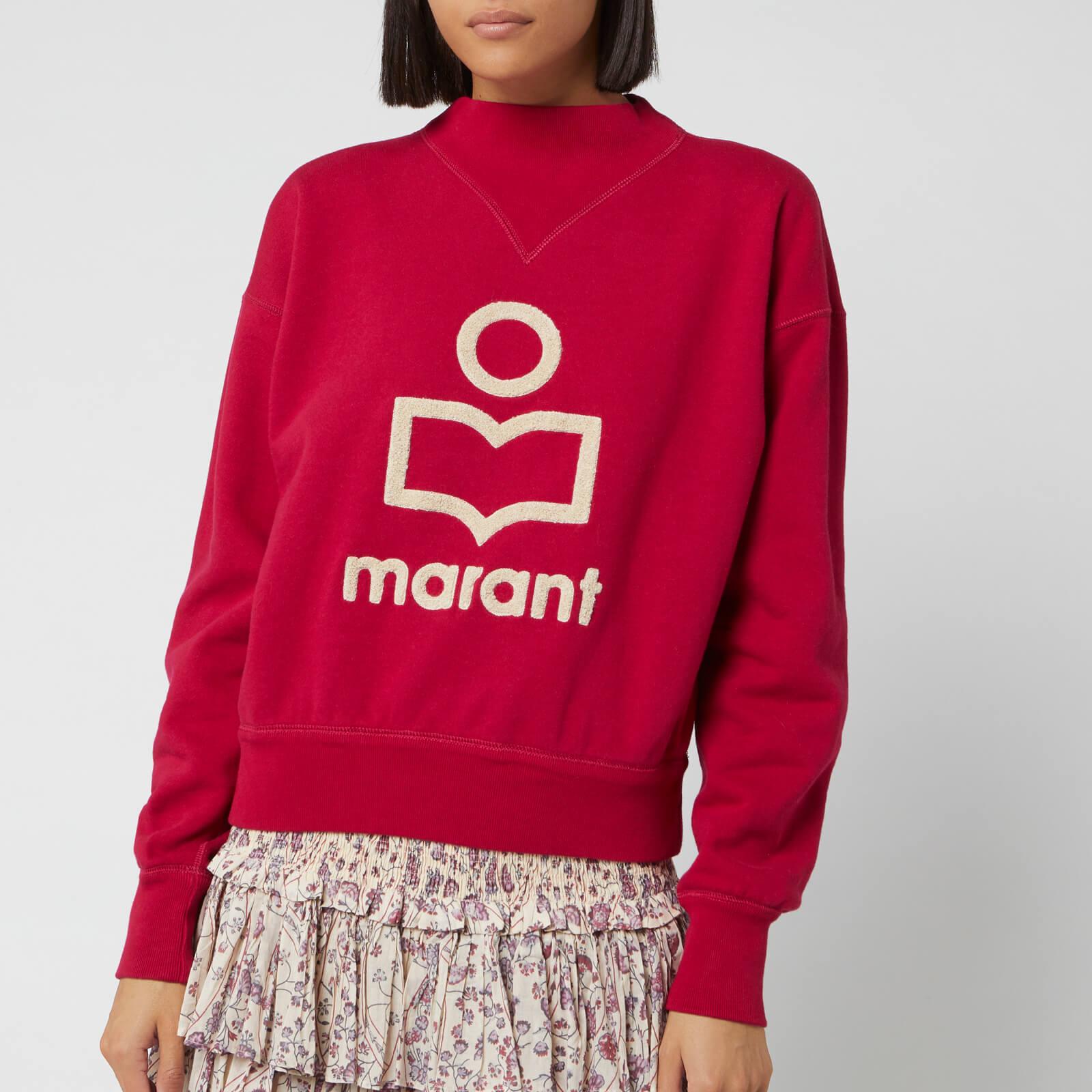 Isabel Marant Étoile Women's Moby Sweatshirt - Fuchsia - FR 38/UK 10 - Pink