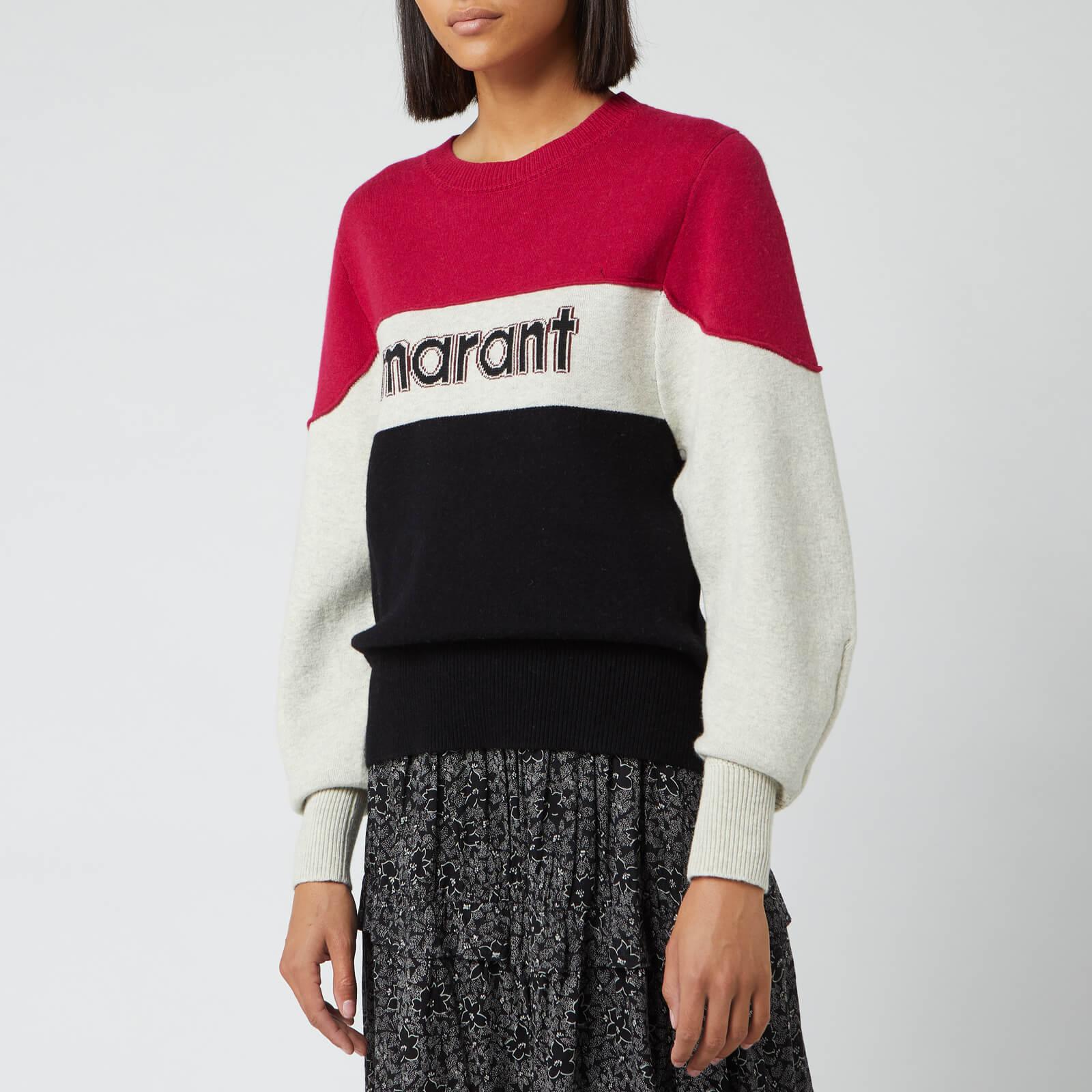 Isabel Marant Étoile Women's Kedy Sweatshirt - Fuchsia - FR 36/UK 8 - Pink
