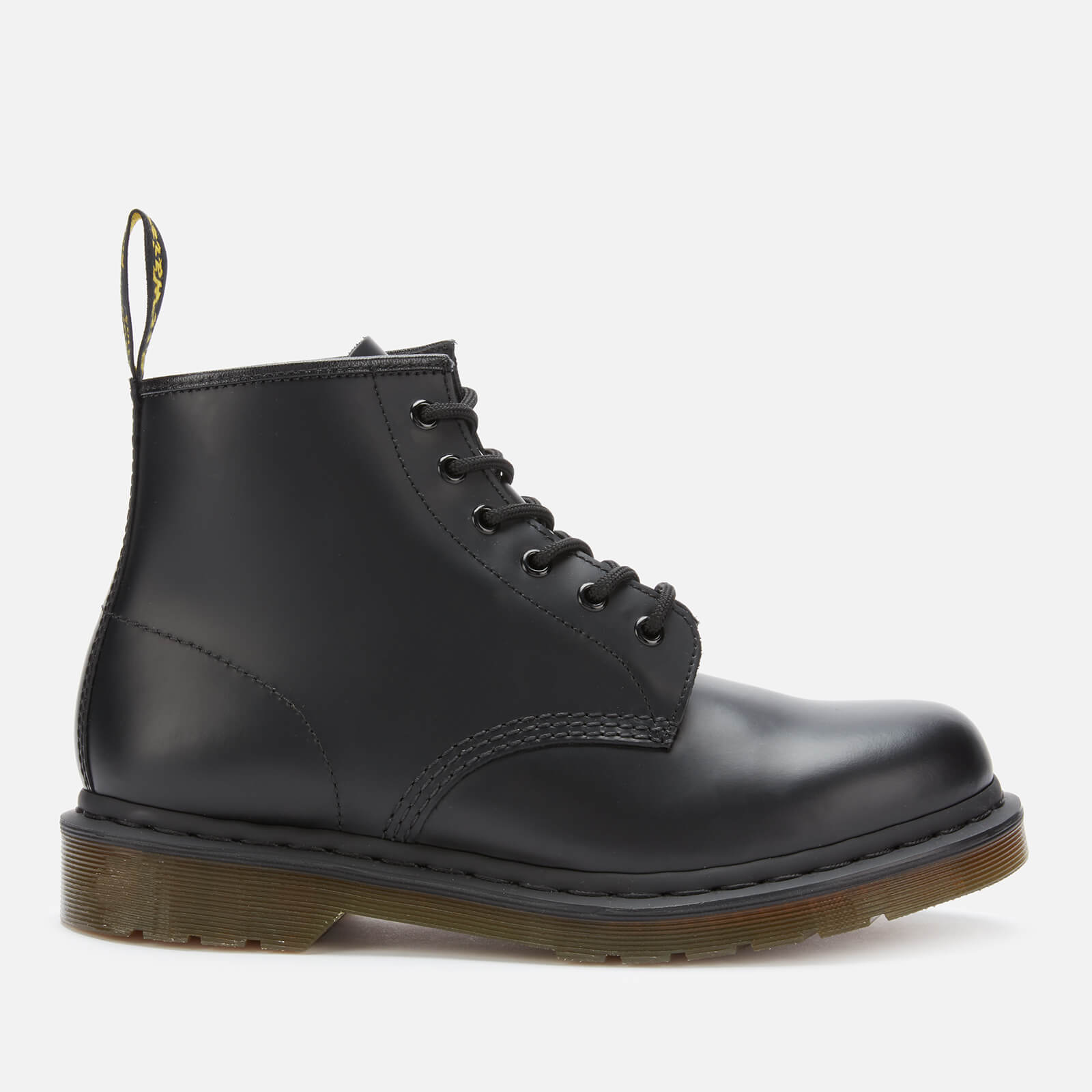 f6280a8bcf5 Dr. Martens 101 Smooth Leather 6-Eye Boots - Black