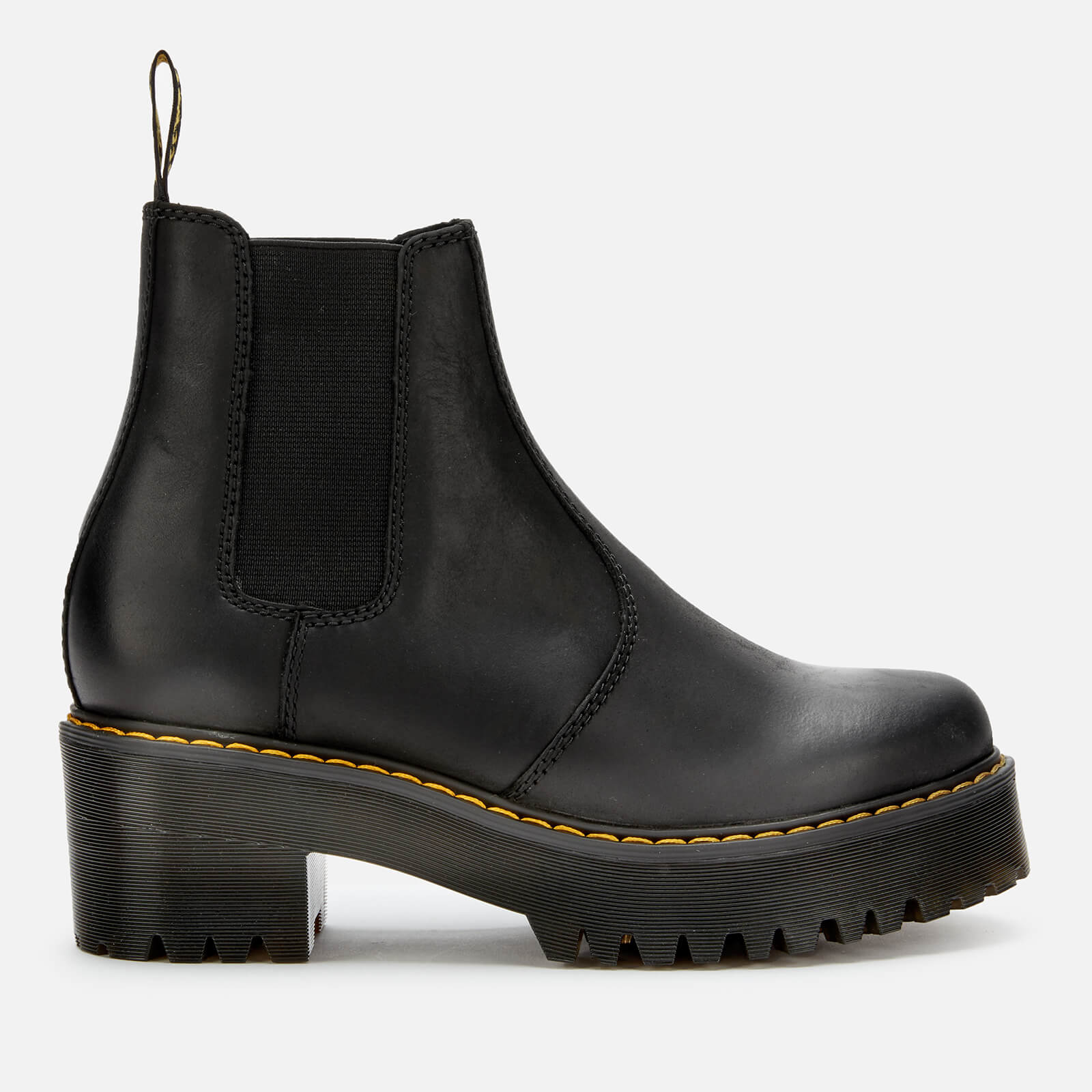dr martens thick sole boots
