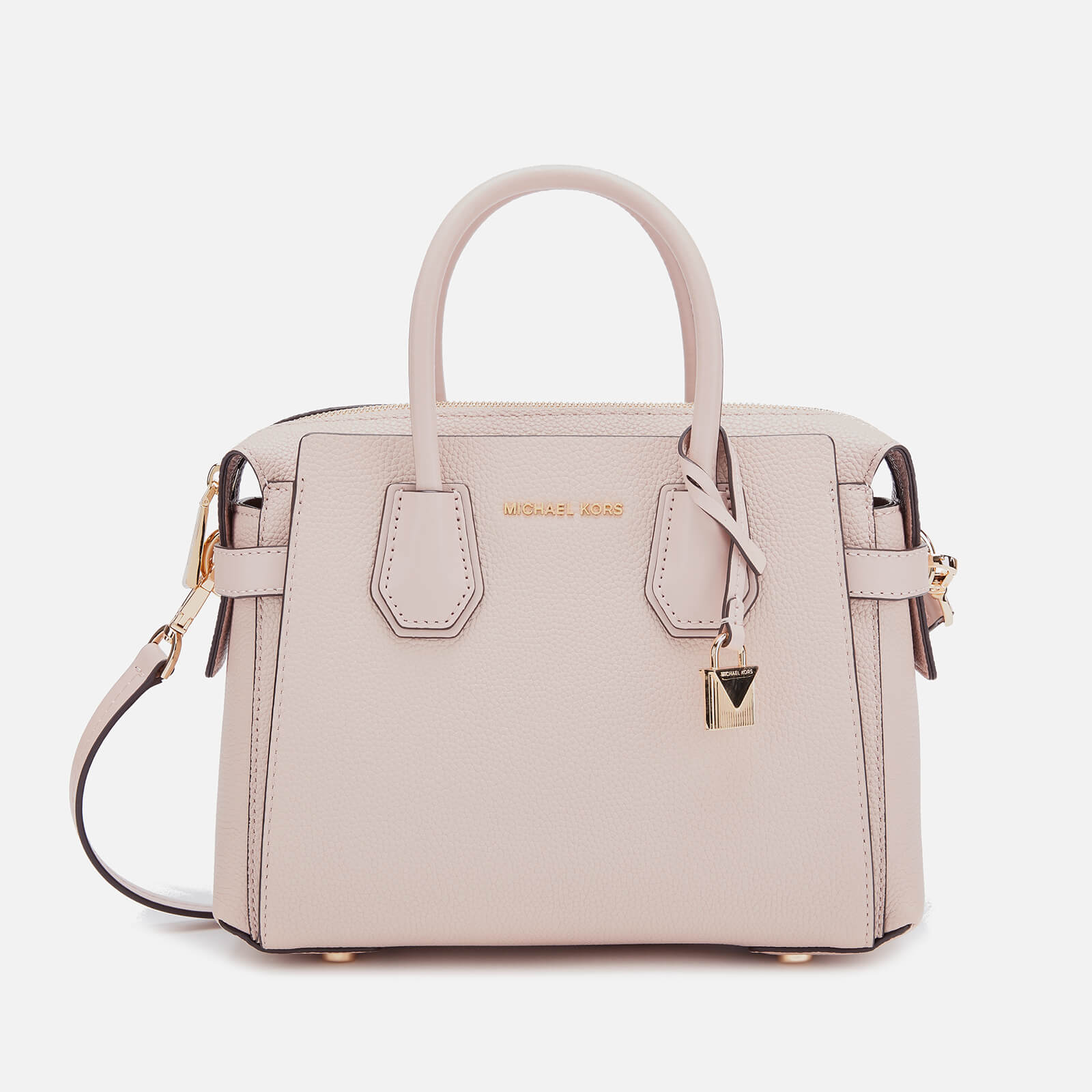 official sale exquisite craftsmanship arrives MICHAEL MICHAEL KORS Women's Mercer Belted Small Satchel Bag - Soft Pink