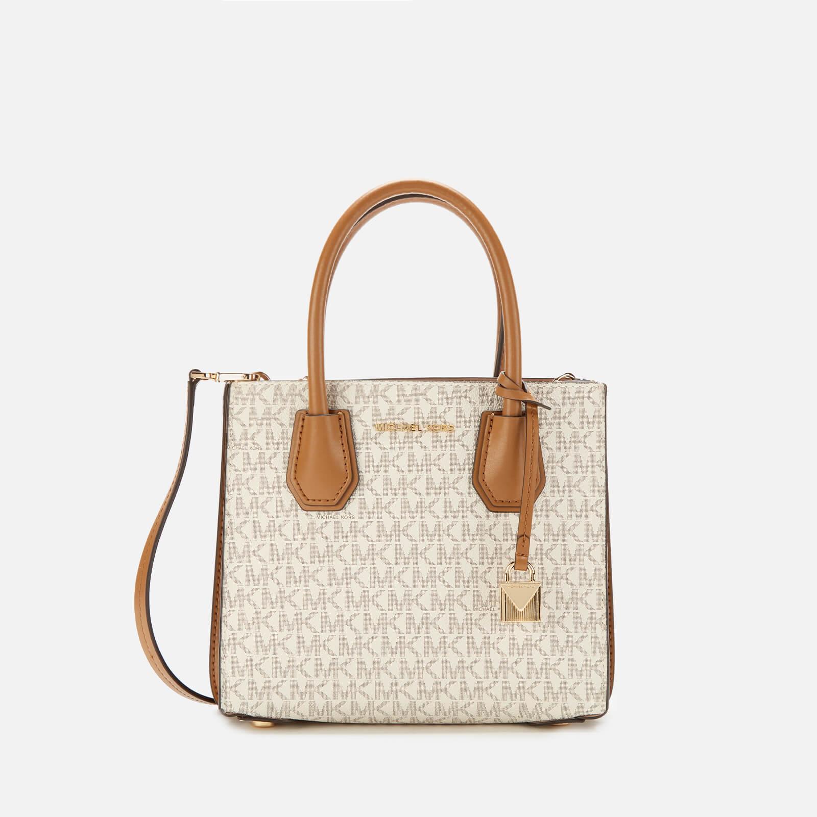 84c0d0784 MICHAEL MICHAEL KORS Women's Mercer Medium Acordian Messenger Bag - Vanilla
