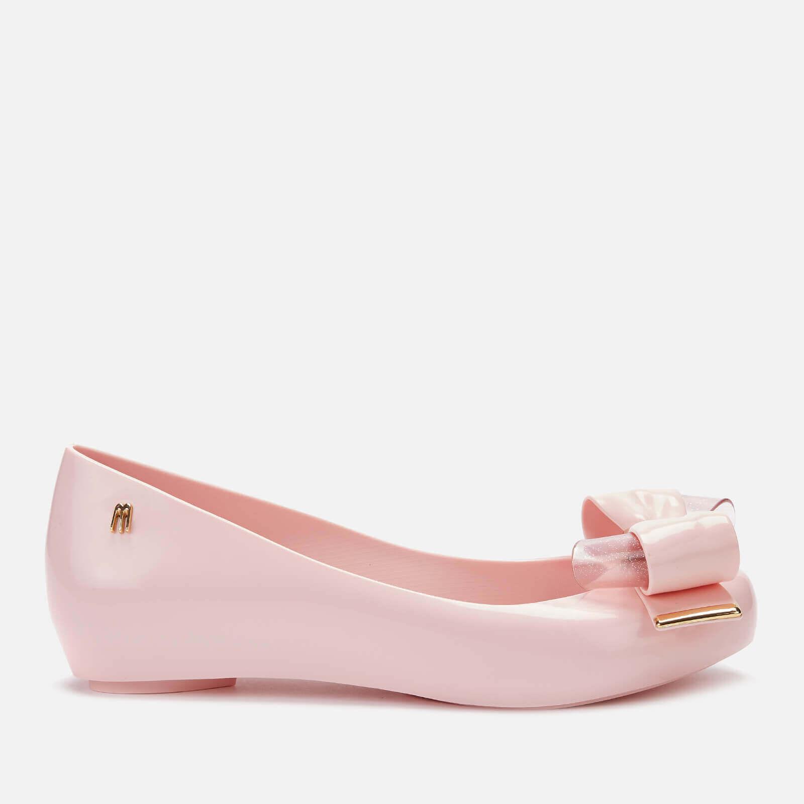 Melissa Women's Ultragirl Sweet 22 Ballet Flats - Light Pink - UK 4 - Pink