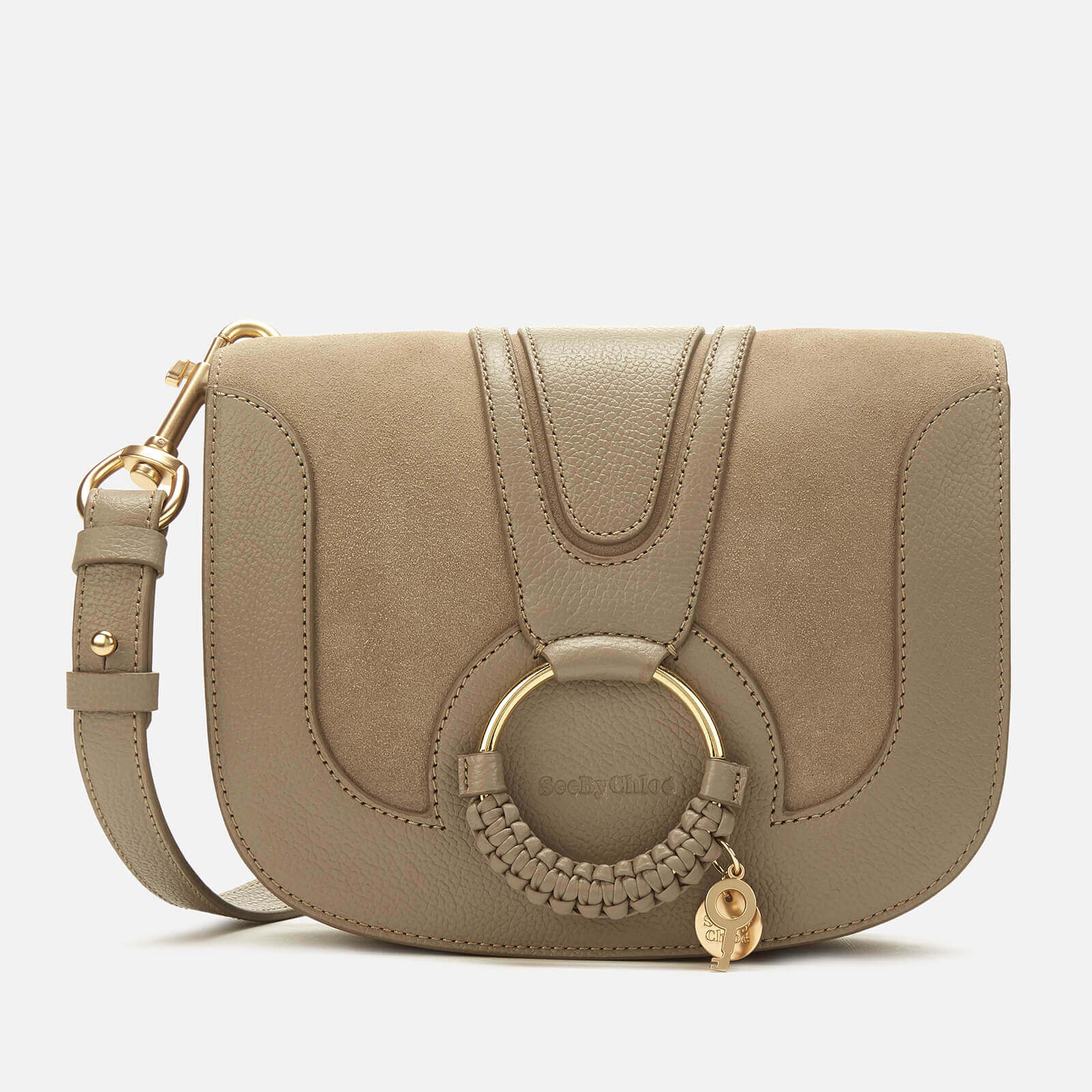 See By Chloé Women's Hana Cross Body Bag - Motty Grey