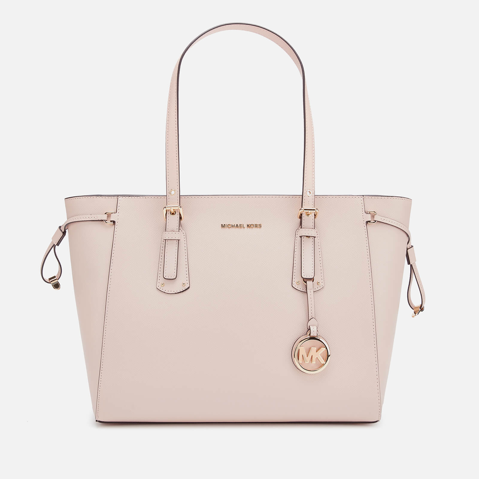 MICHAEL MICHAEL KORS Women's Voyager Medium Top Zip Tote Bag Soft Pink